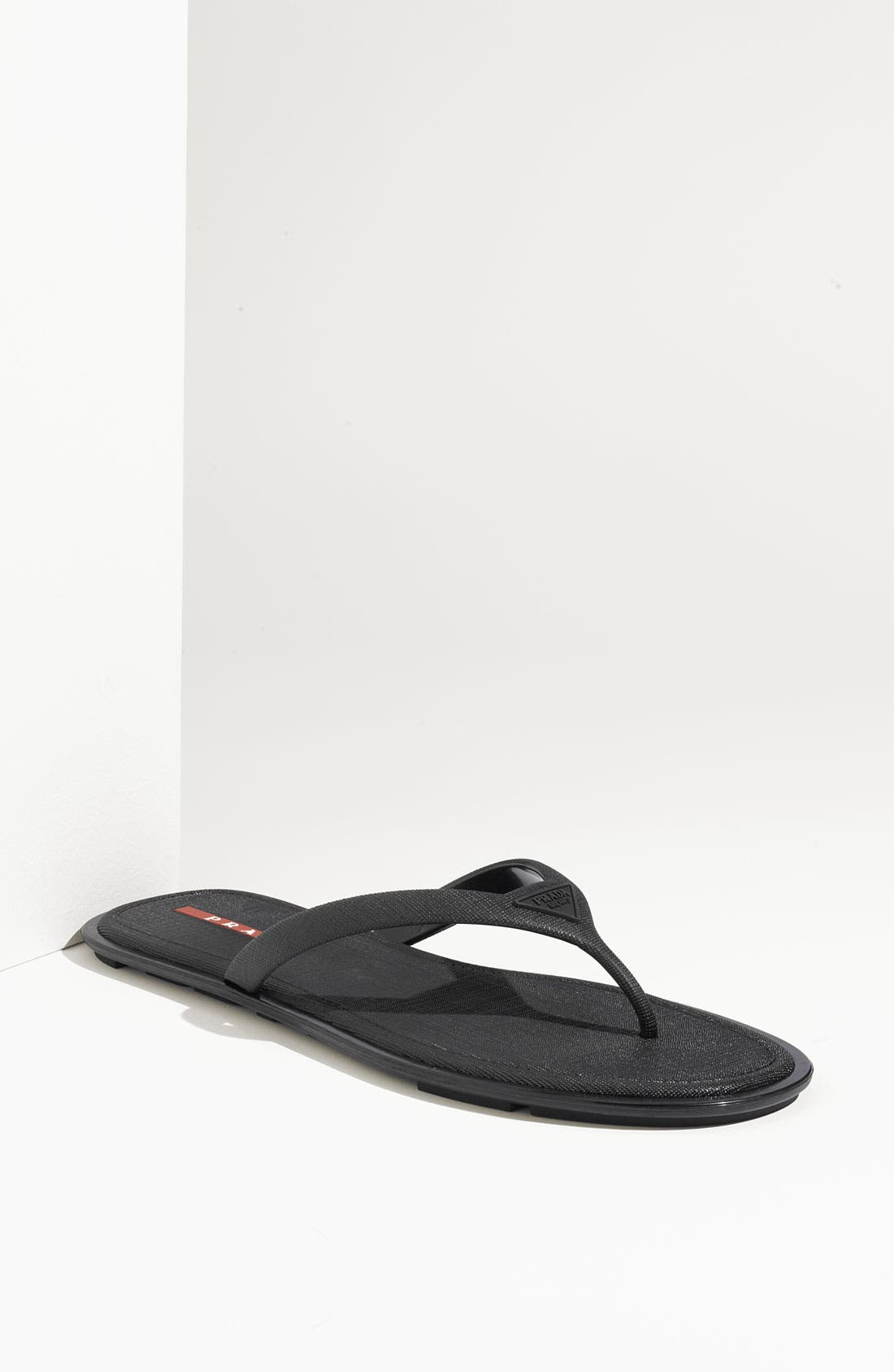 Alternate Image 1 Selected - Prada Thong Sandal (Men)