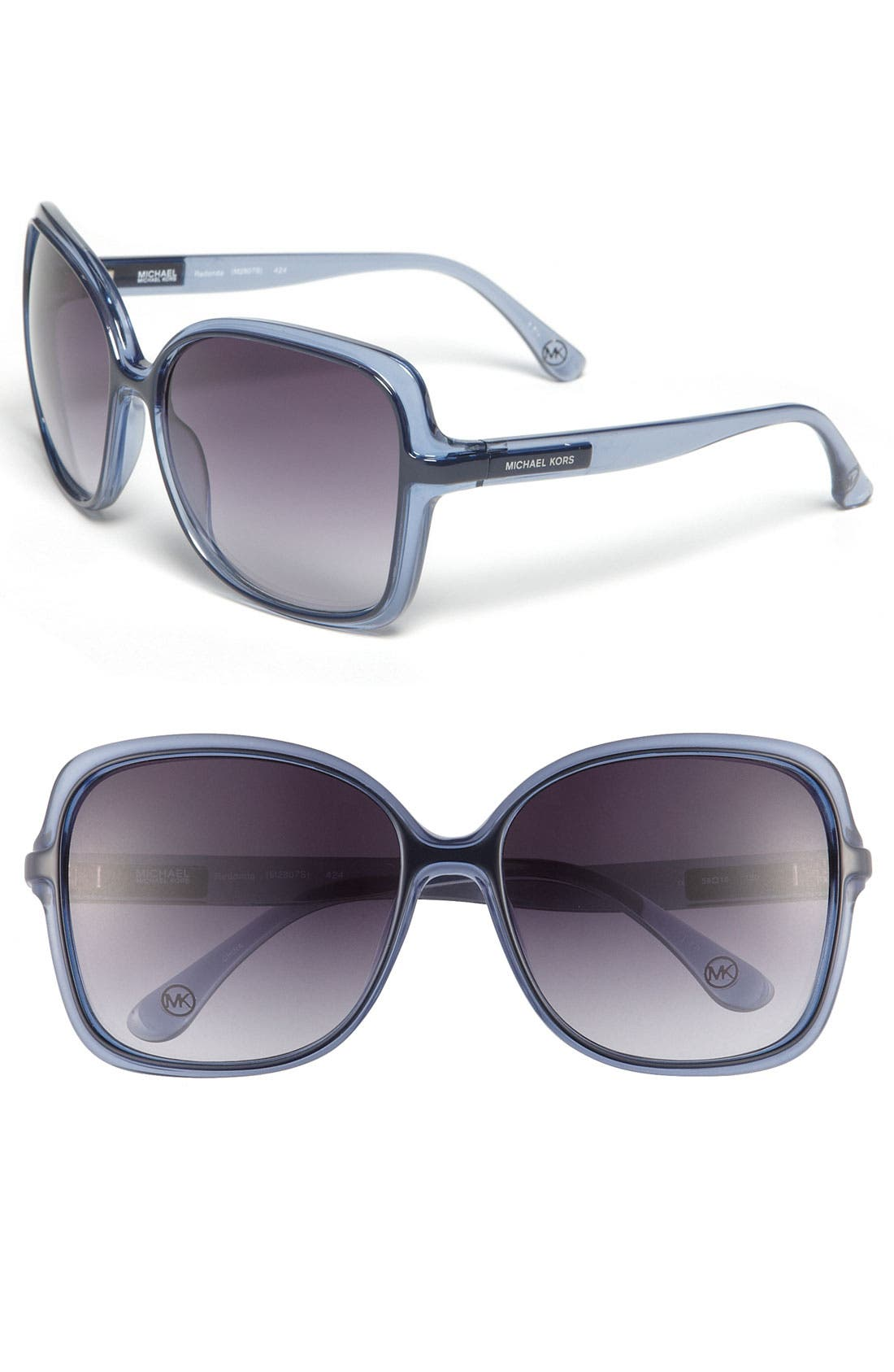 Main Image - MICHAEL Michael Kors 'Redonda' 59mm Square Sunglasses