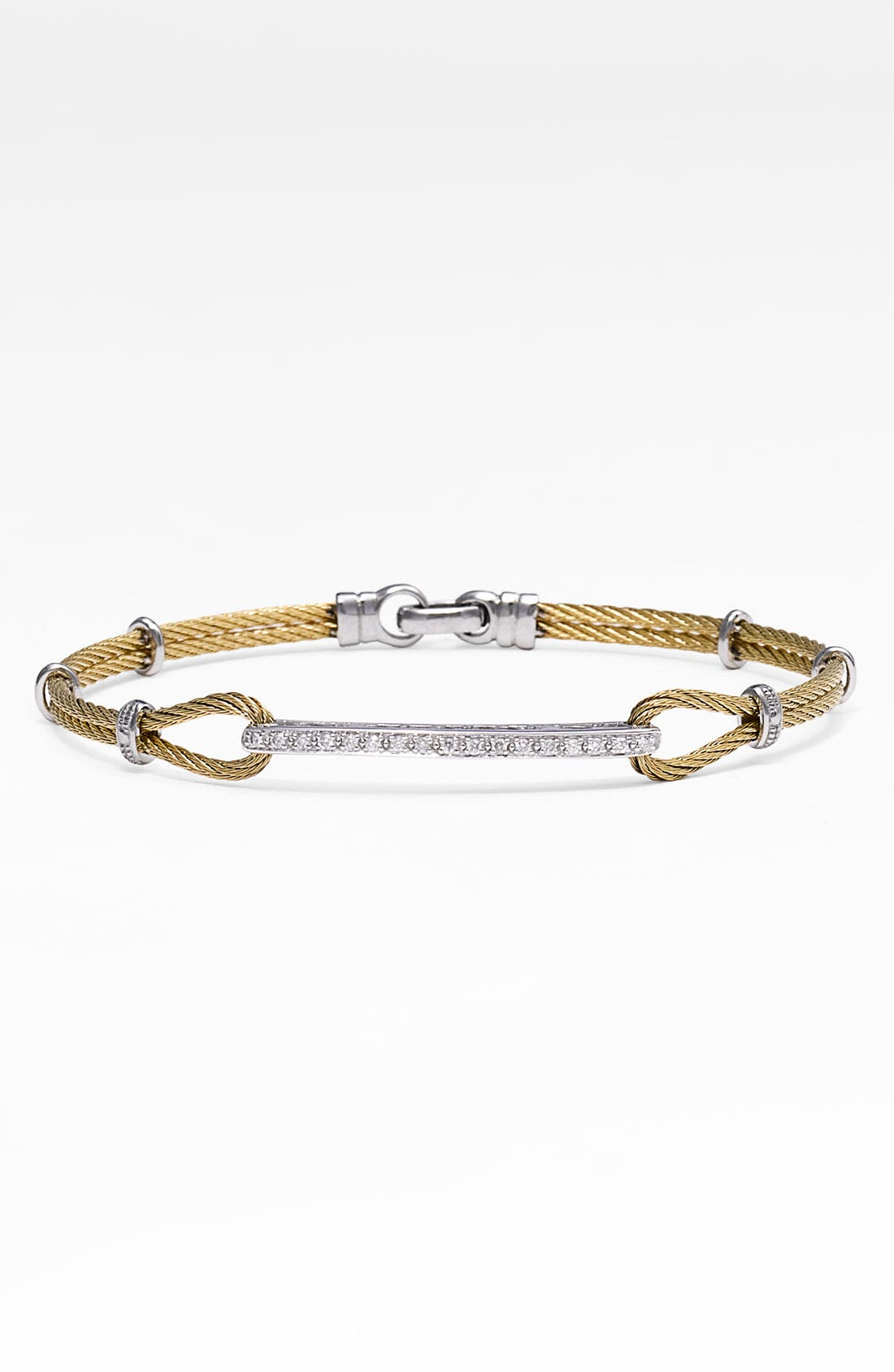 Alternate Image 1 Selected - ALOR® Diamond ID Bracelet