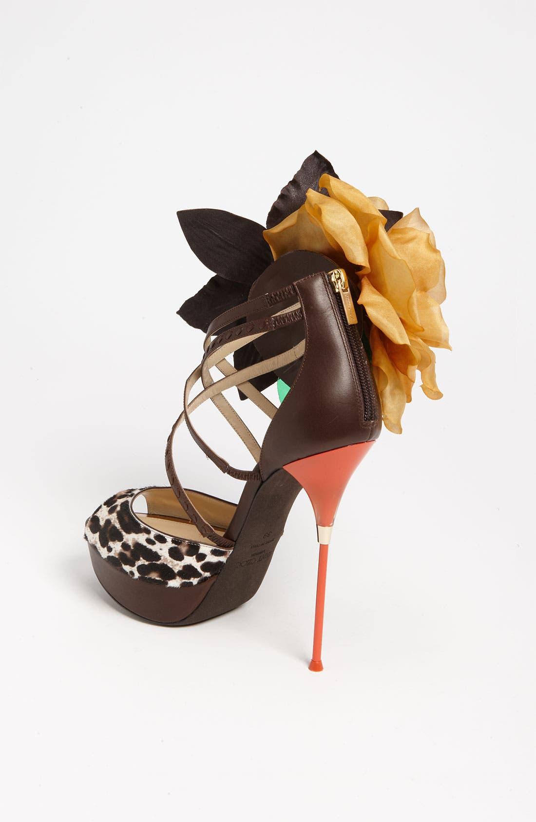 Alternate Image 2  - Jimmy Choo 'Mira Flower' Sandal