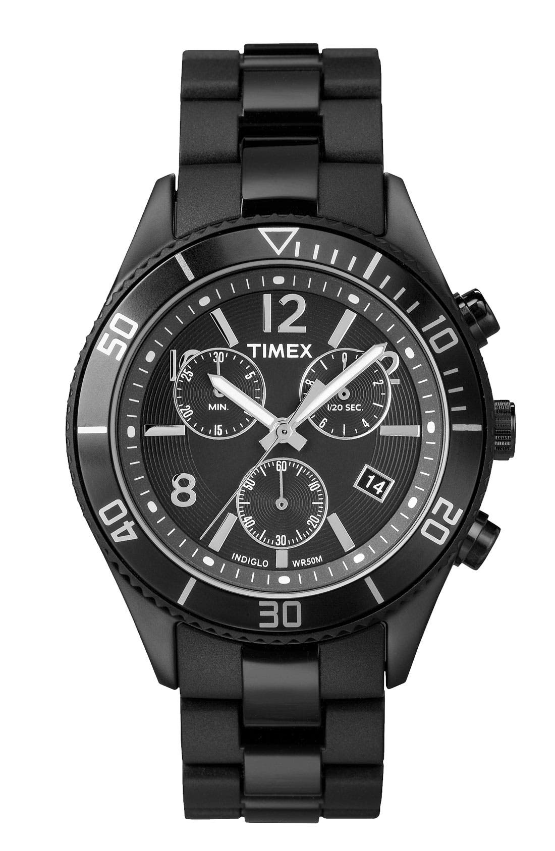 Alternate Image 1 Selected - Timex® Chronograph Aluminum Sport Watch