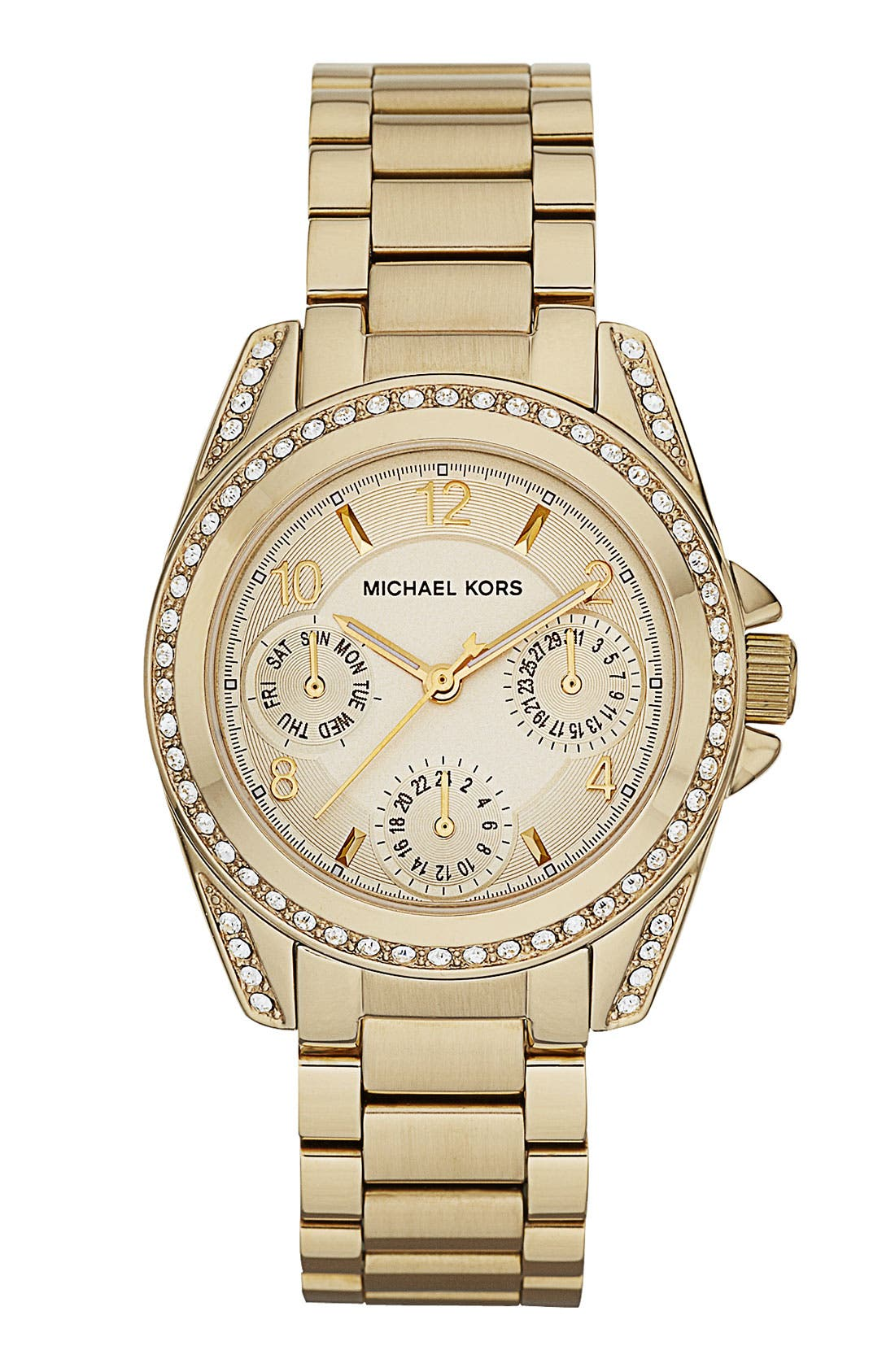 Alternate Image 1 Selected - Michael Kors 'Mini Blair' Multifunction Watch, 33mm