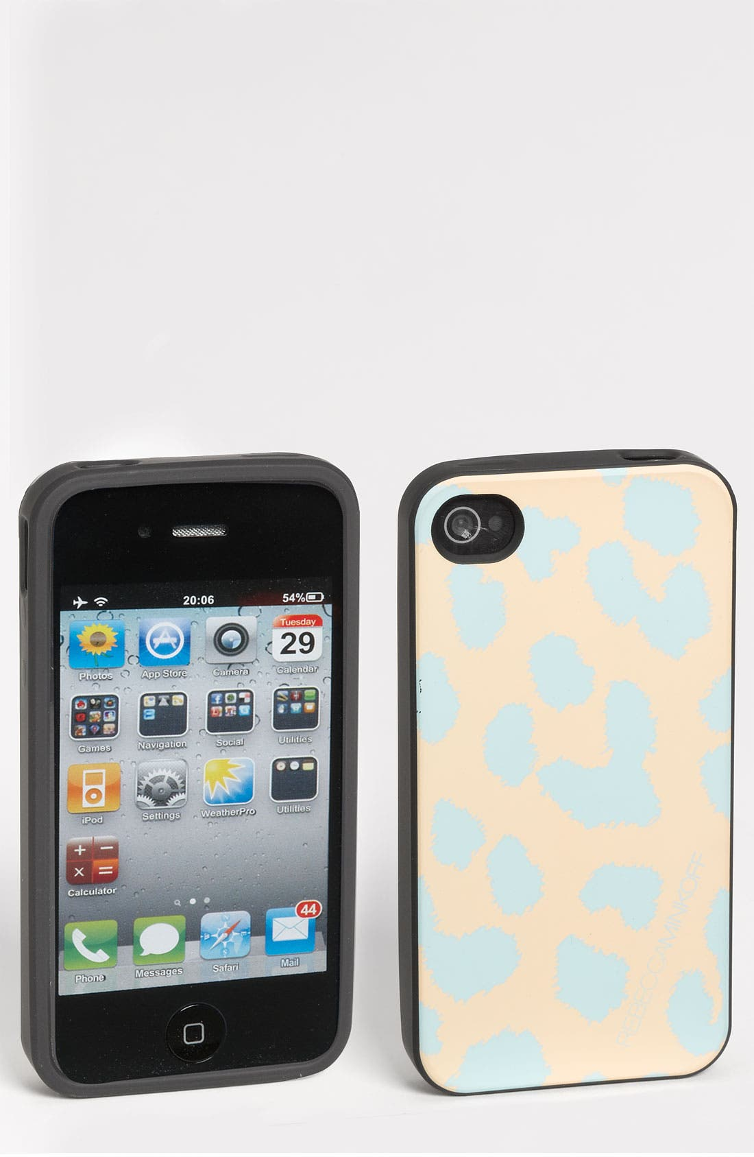 Alternate Image 1 Selected - Rebecca Minkoff 'Cheetah' iPhone 4 & 4S Case