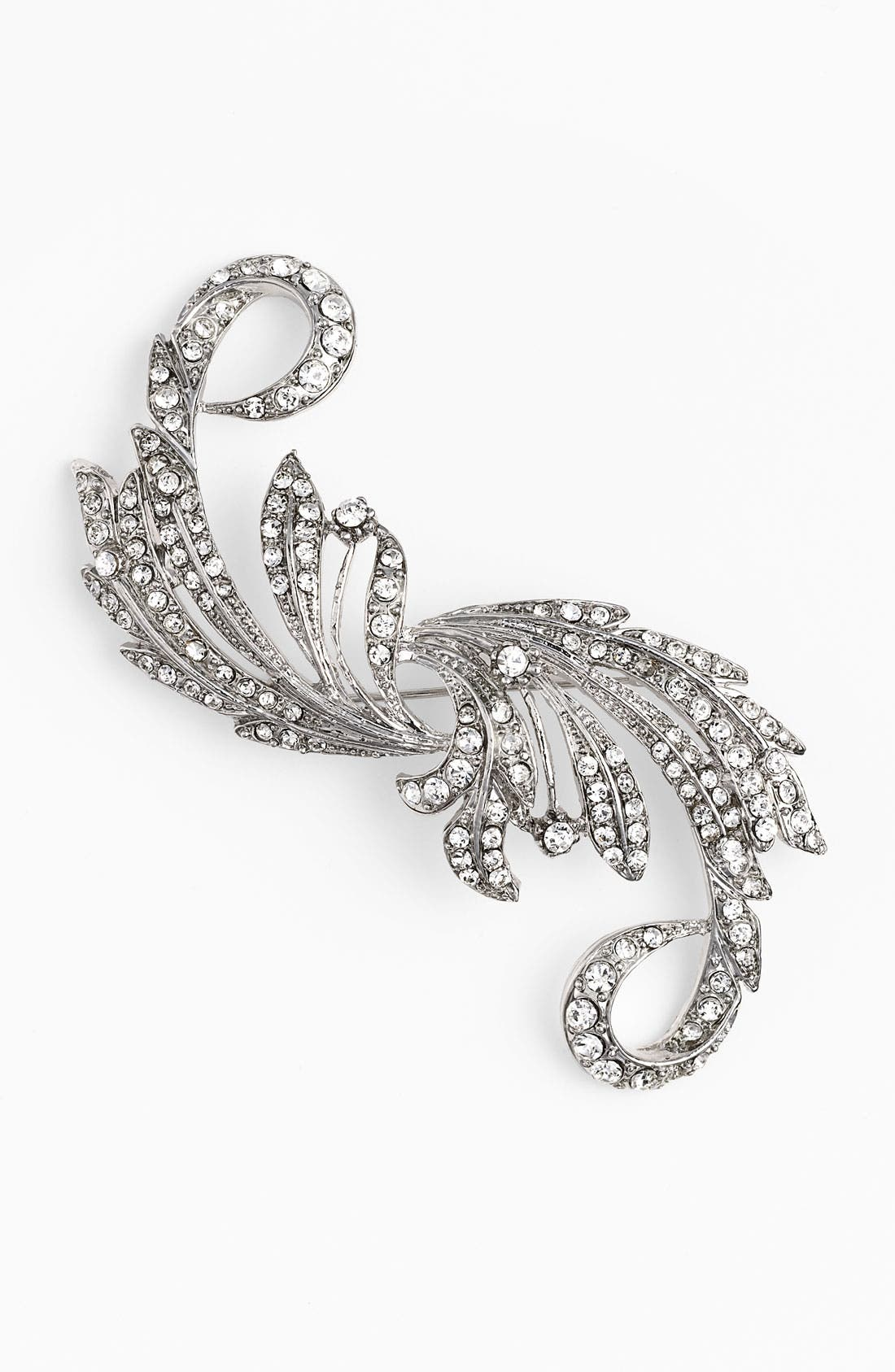 Alternate Image 1 Selected - Nina 'Taylor' Crystal Statement Brooch