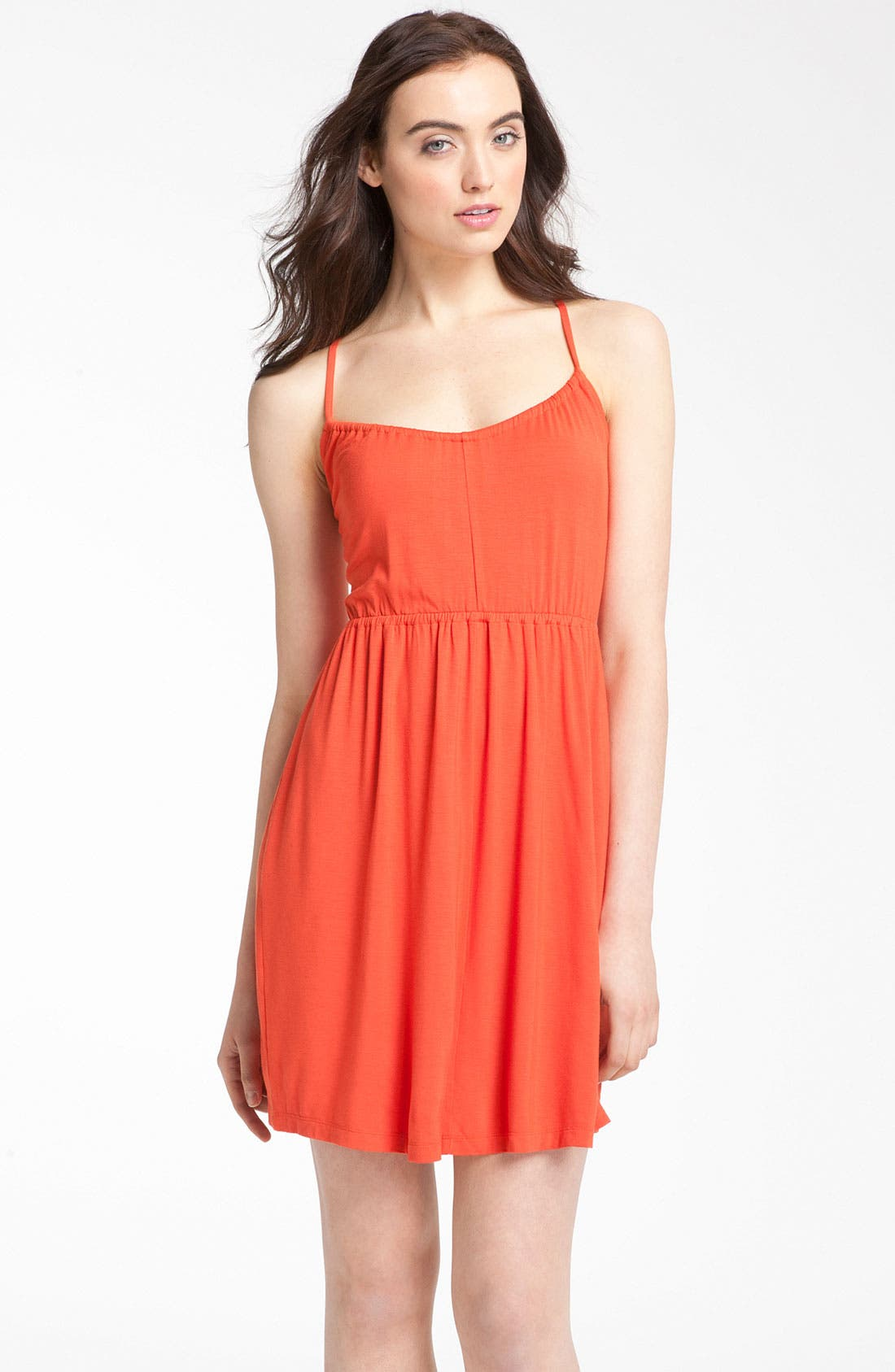 Main Image - Caslon® Crossover Back Knit Dress