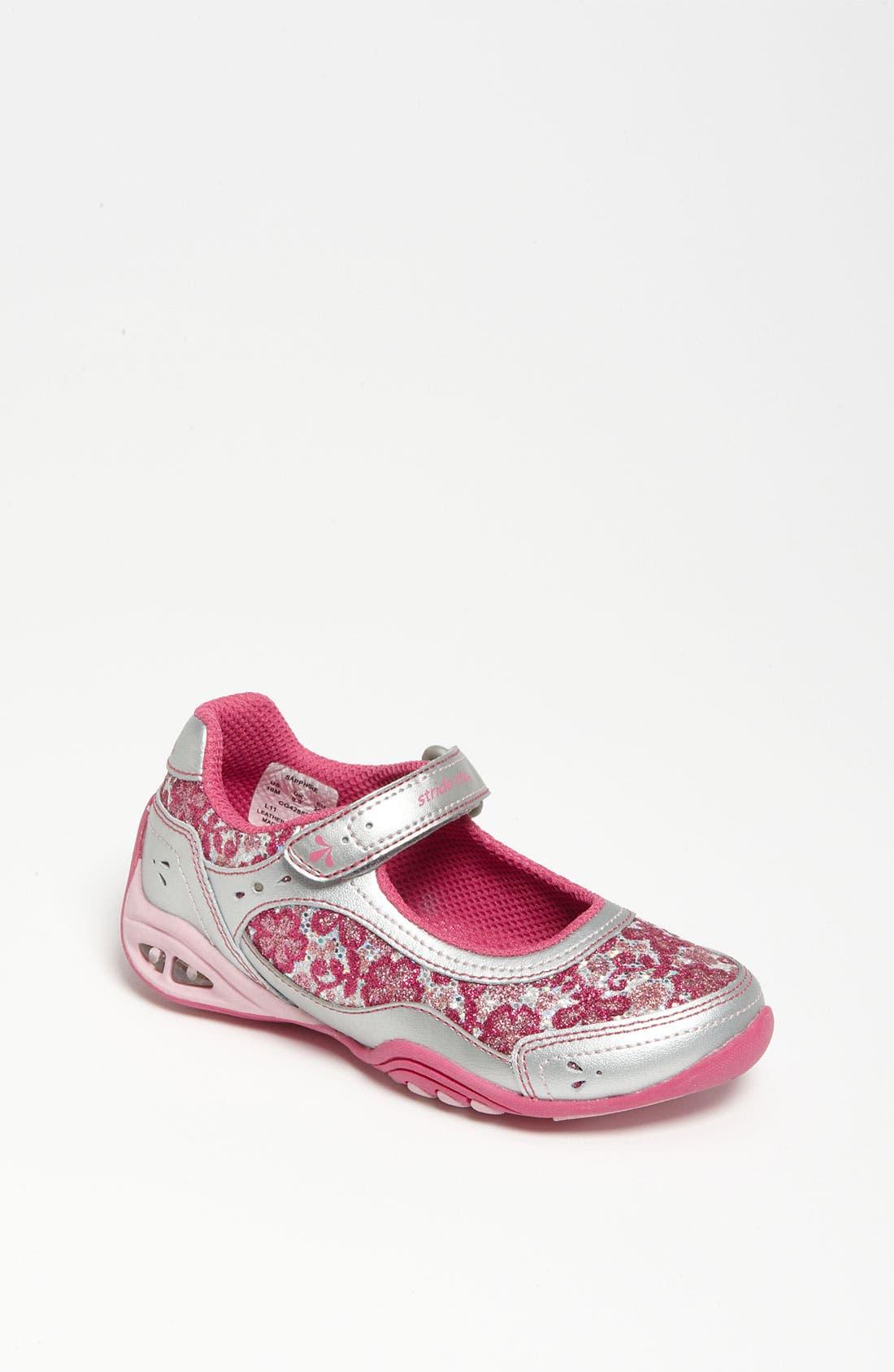 Main Image - Stride Rite 'Sapphire' Light-Up Sneaker (Walker, Toddler & Little Kid)