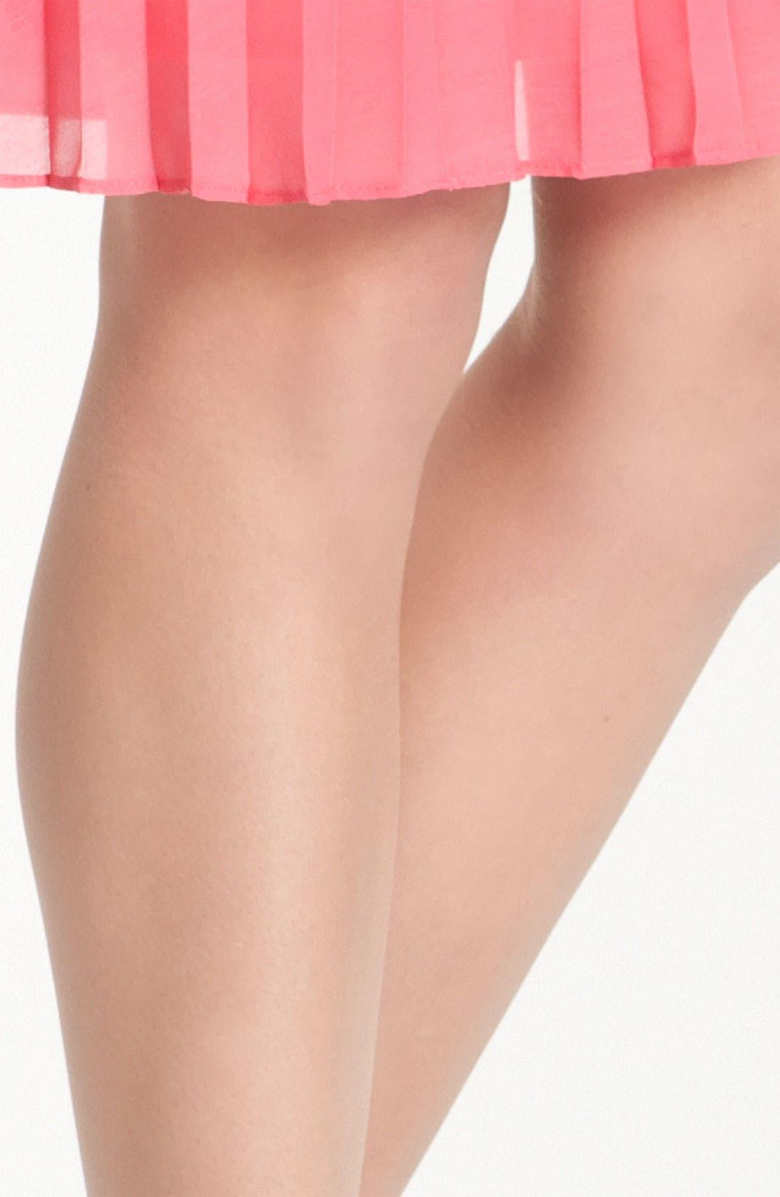 Alternate Image 2  - Pretty Polly 'Sun Oil Sheen' Pantyhose