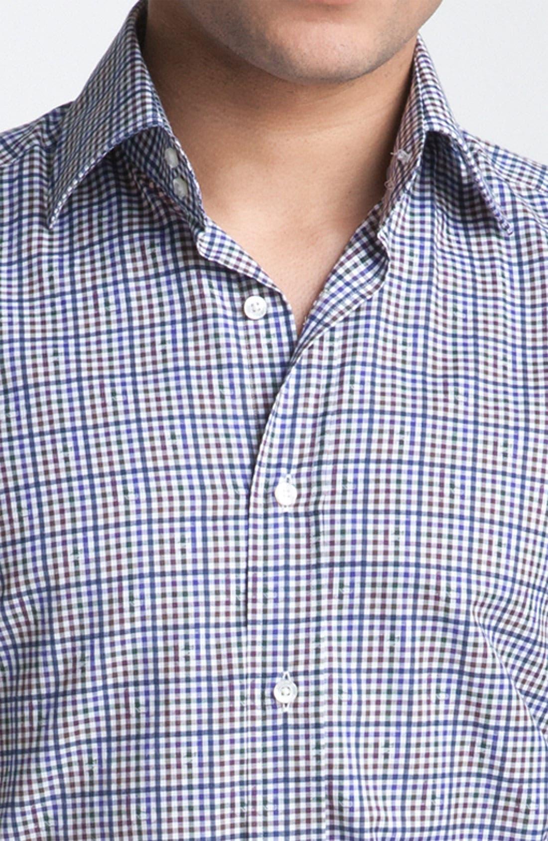 Alternate Image 3  - Etro Plaid Woven Dress Shirt