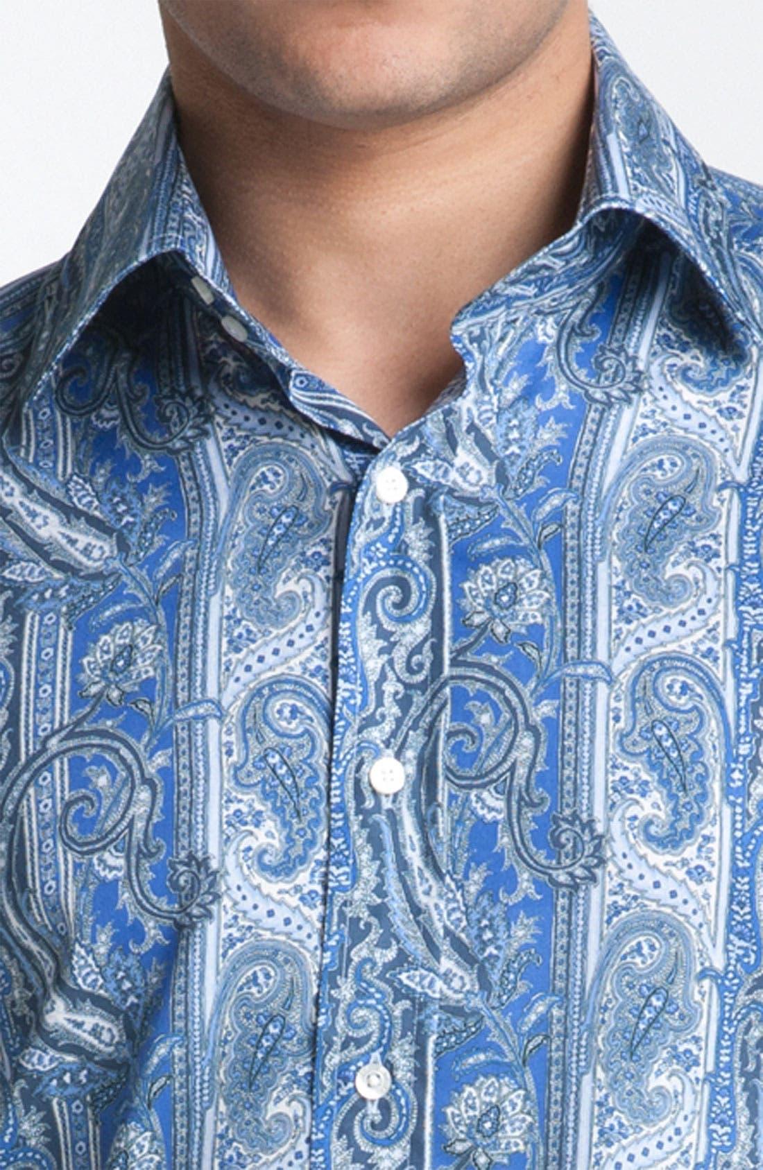 Alternate Image 3  - Etro Paisley Woven Dress Shirt