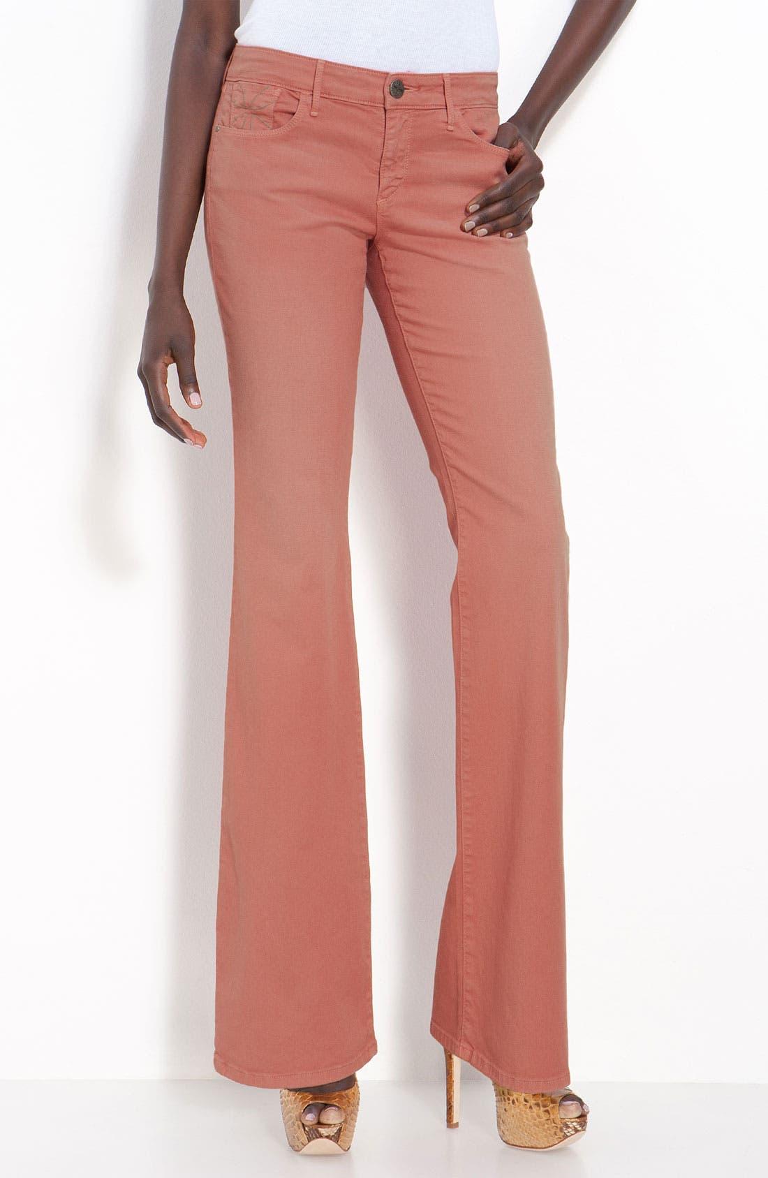 Alternate Image 2  - Habitual 'Vintage Hayworth' Flare Leg Stretch Jeans