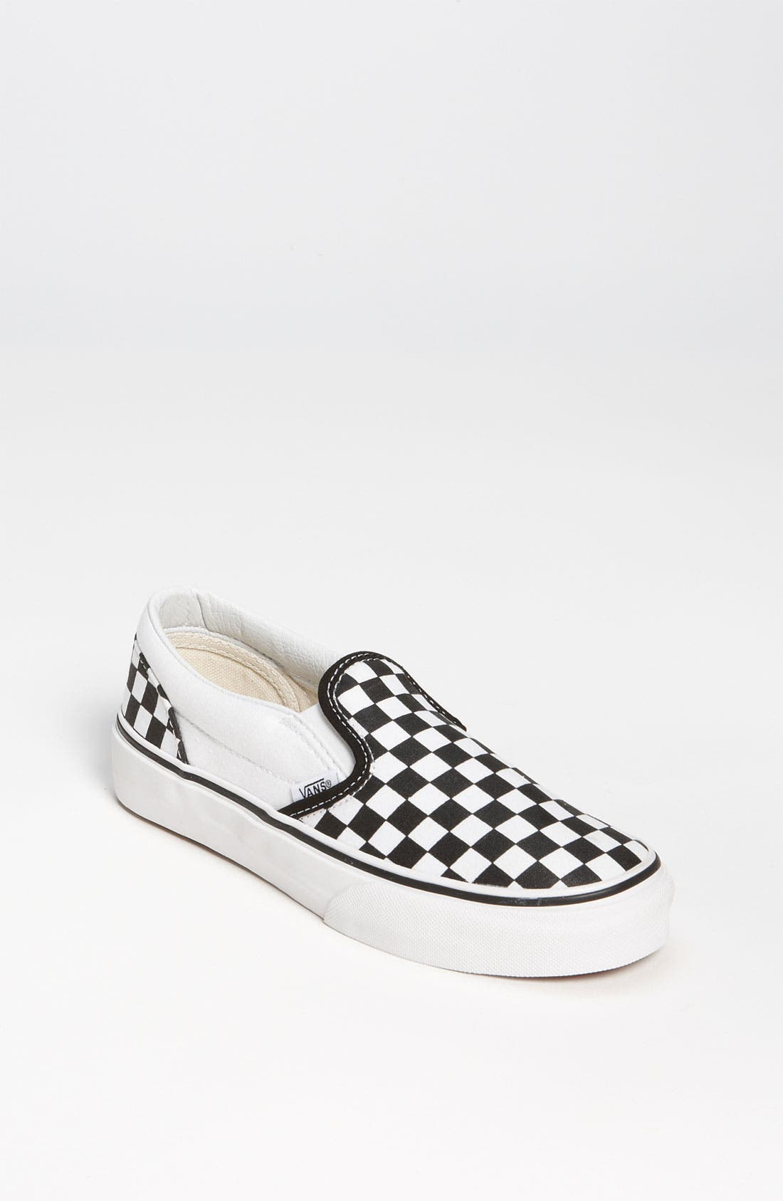 Main Image - Vans 'Classic - Checker' Slip-On (Baby, Walker, Toddler, Little Kid & Big Kid)