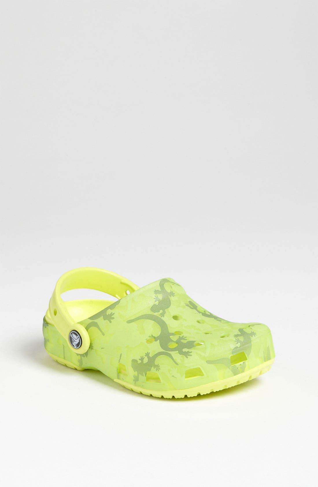Alternate Image 1 Selected - CROCS™ 'Chameleon Lizard' Slip-On (Walker, Toddler & Little Kid)