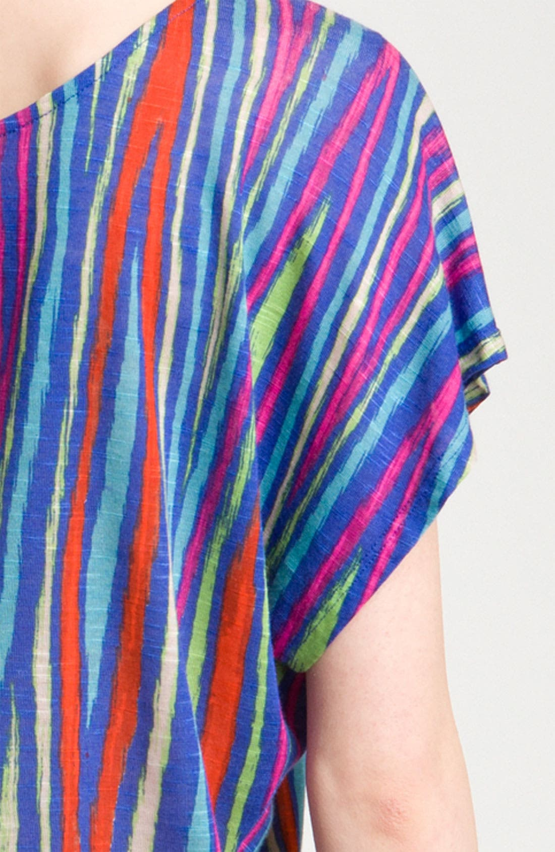 Alternate Image 3  - Ella Moss 'Kahlo' Slouchy Ikat Print Top