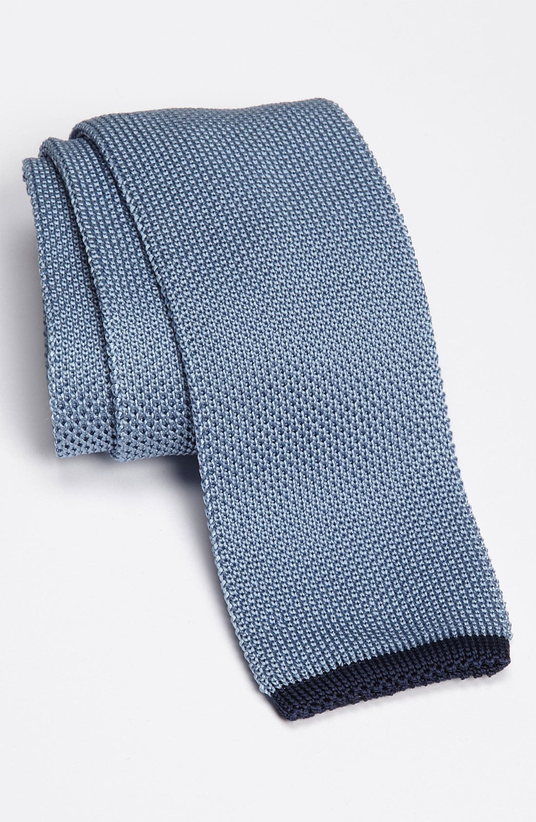 Alternate Image 1 Selected - Samuelsohn Solid Knit Tie