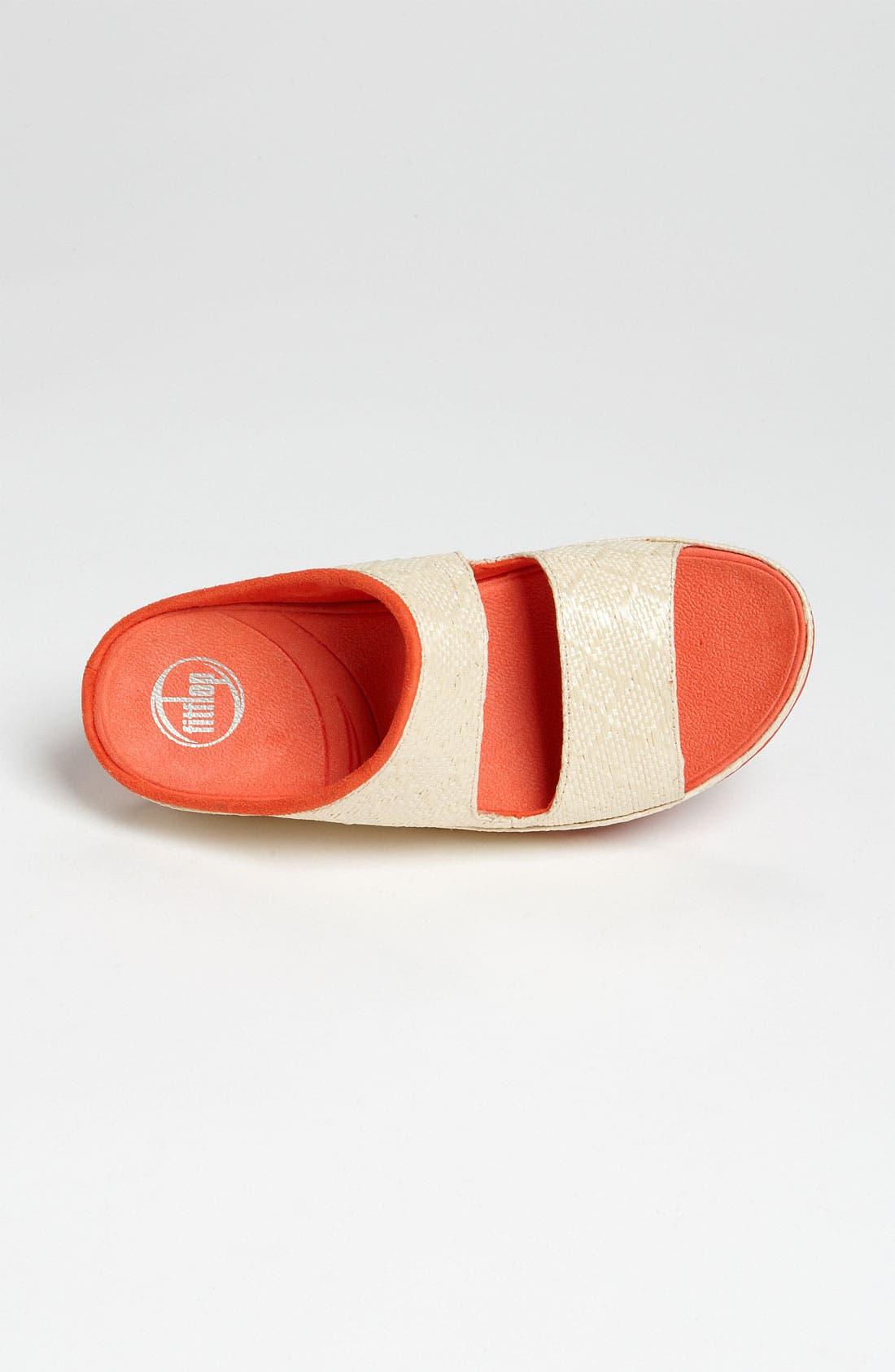 Alternate Image 3  - FitFlop 'Lolla Raffia' Sandal