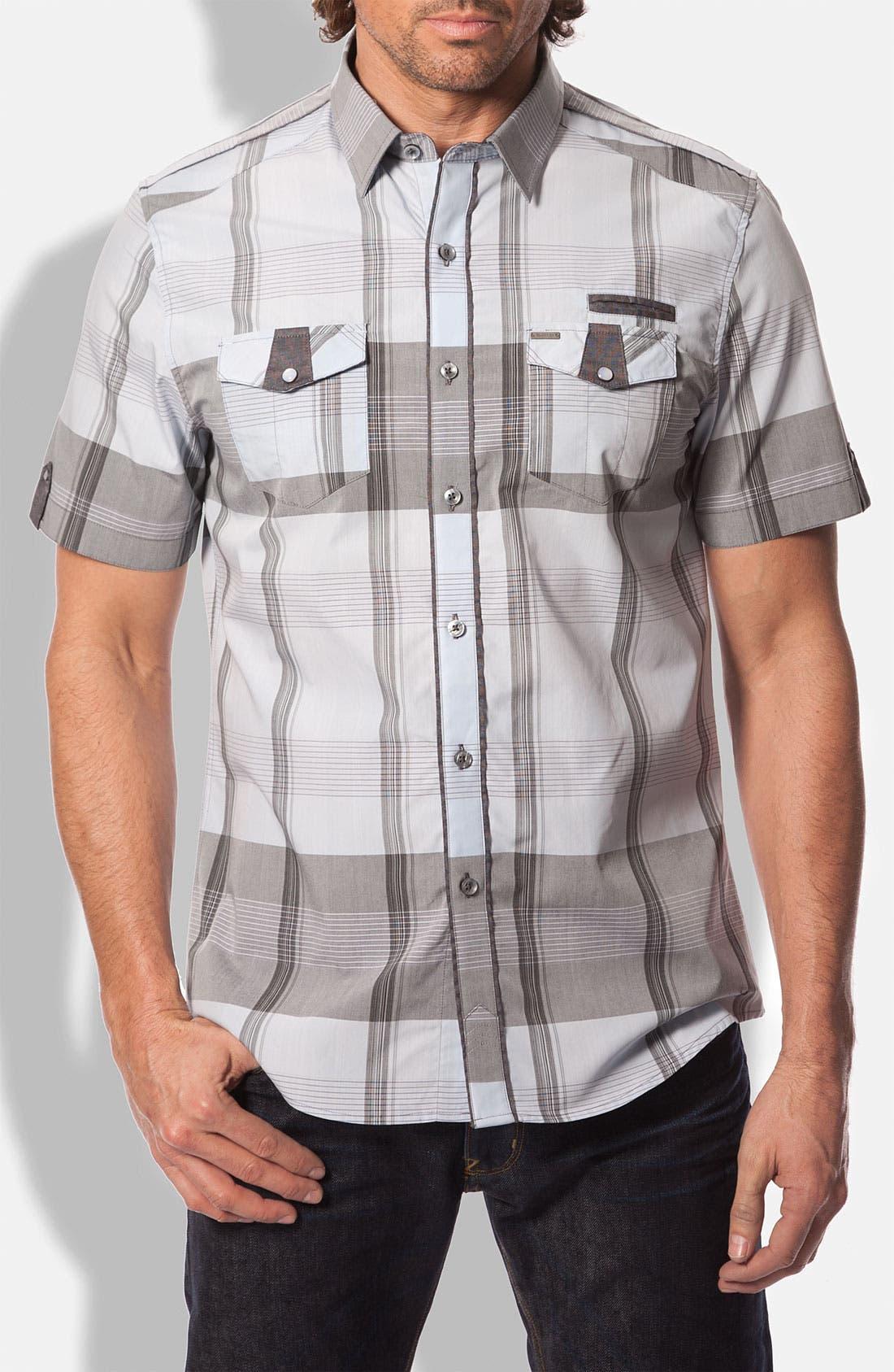 Main Image - 7 Diamonds 'Offshore' Plaid Woven Shirt
