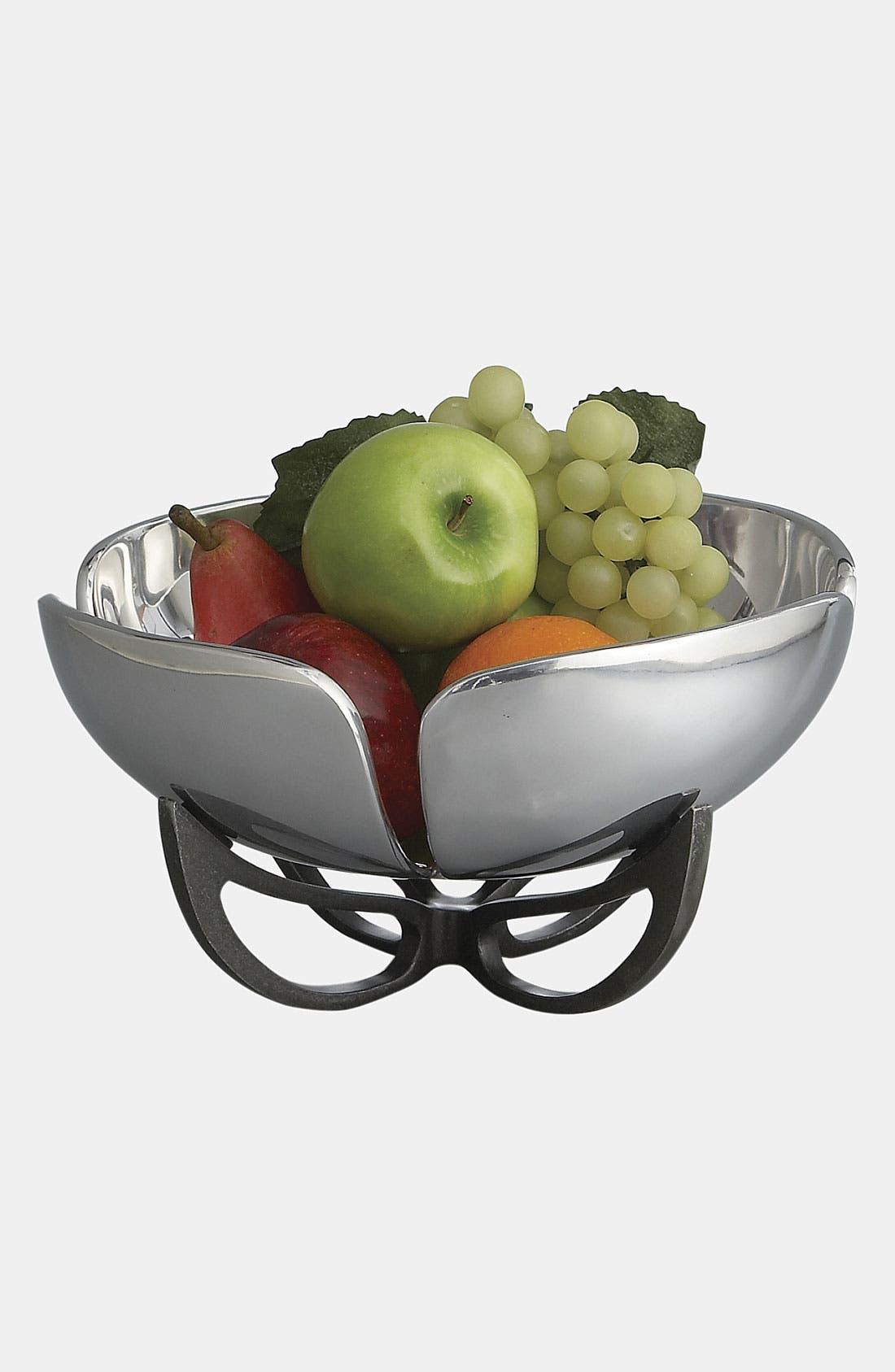 Alternate Image 2  - Nambé 'Anvil' Petal Fruit Bowl