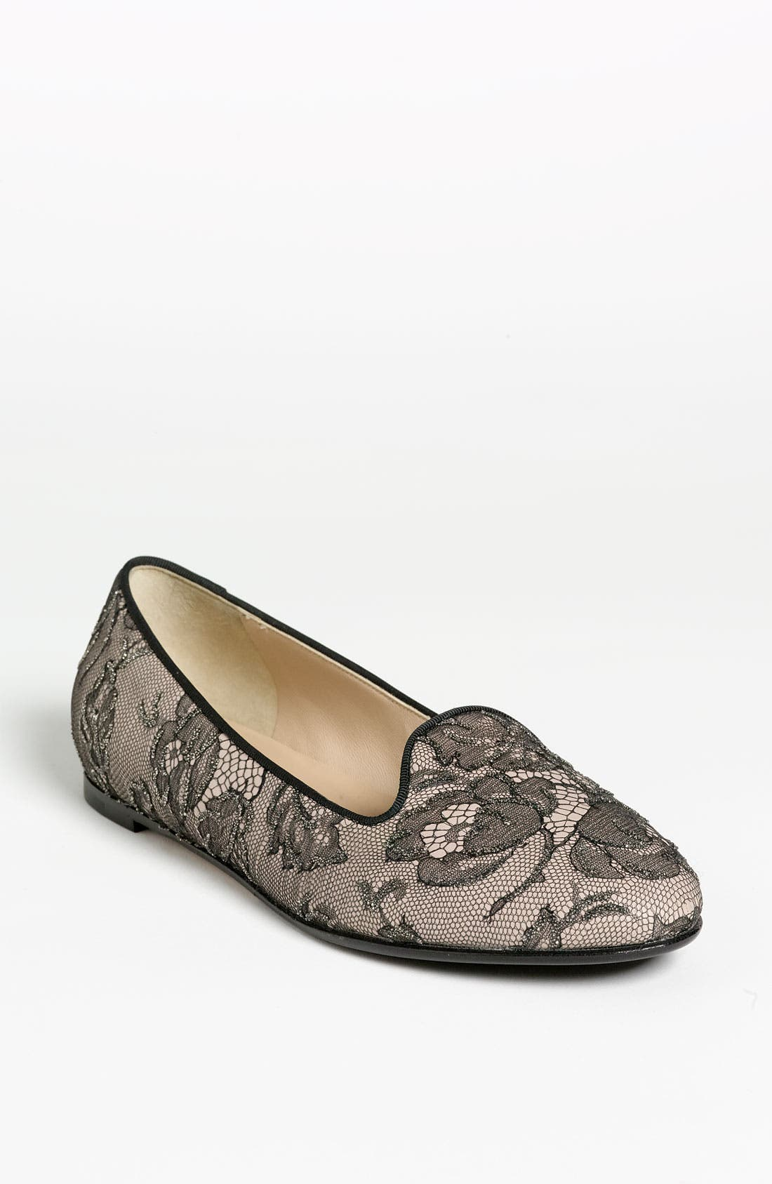 Alternate Image 1 Selected - Valentino 'Lace Art' Slipper