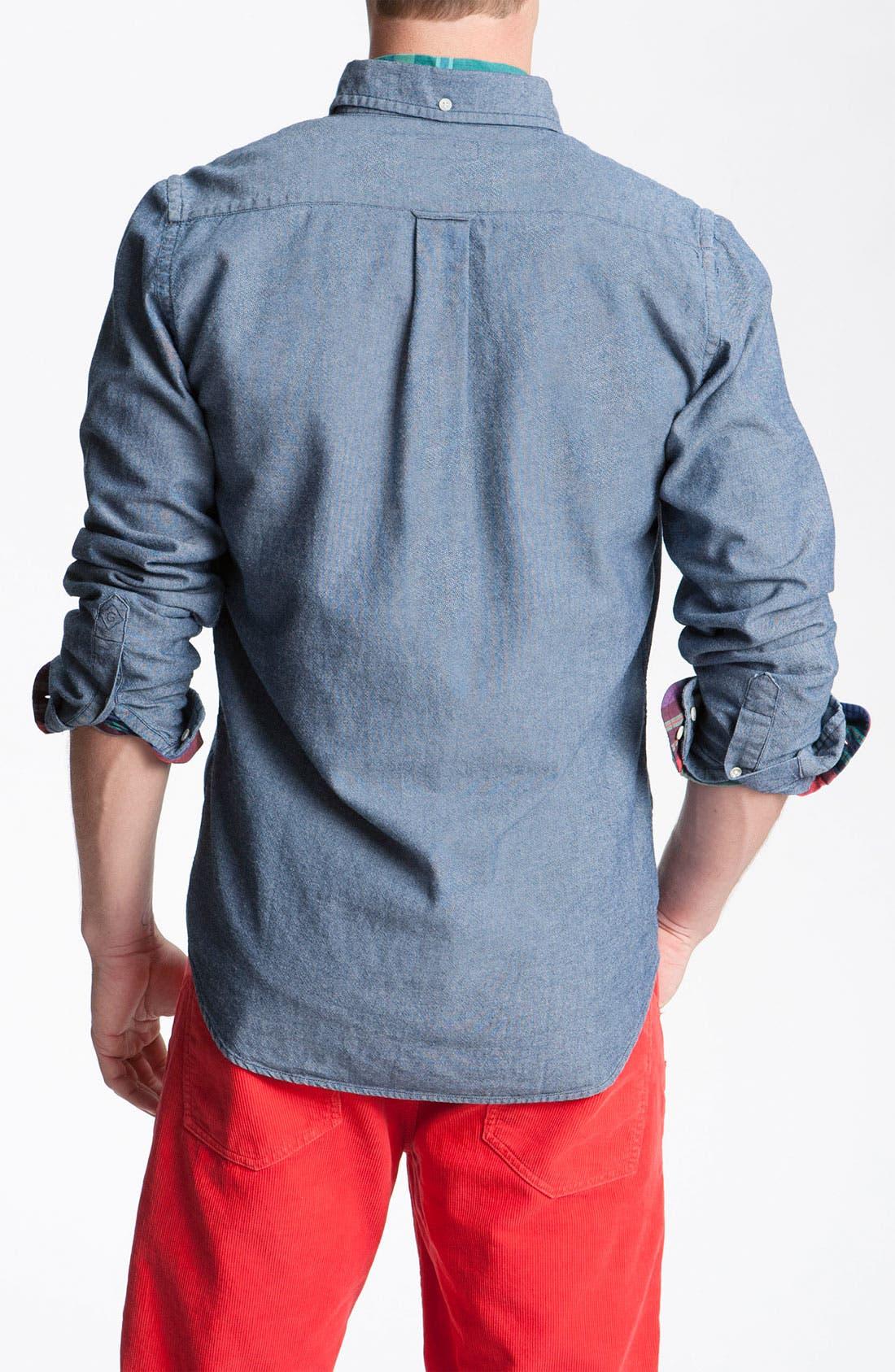 Alternate Image 2  - Gant Rugger Woven Oxford Shirt
