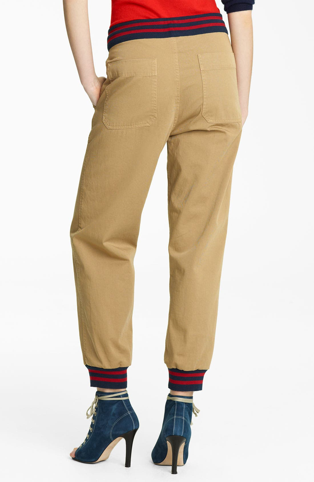 Alternate Image 2  - Band of Outsiders Twill Pants