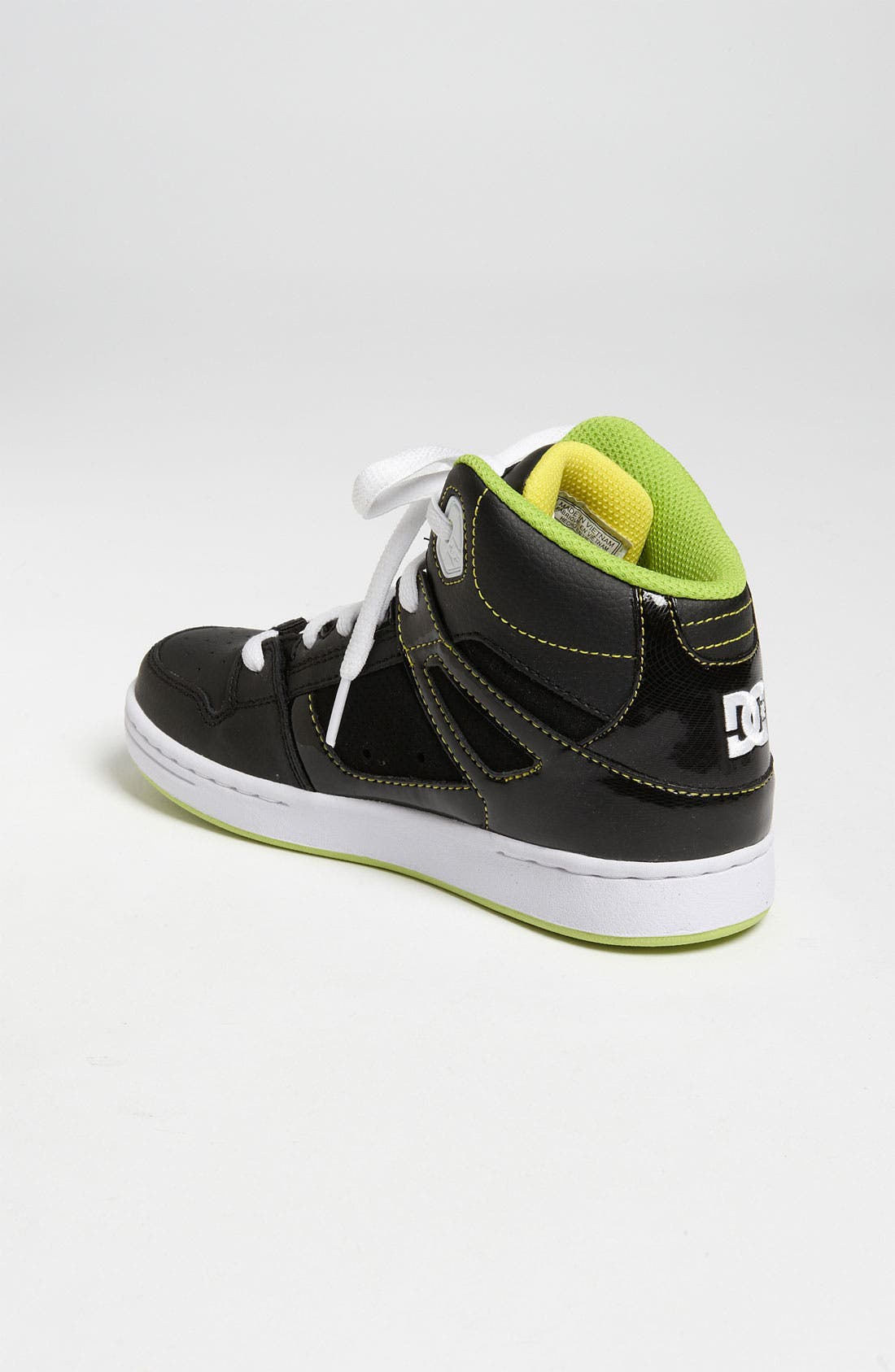Alternate Image 2  - DC Shoes 'Rebound' Skate Shoe (Toddler, Little Kid & Big Kid)