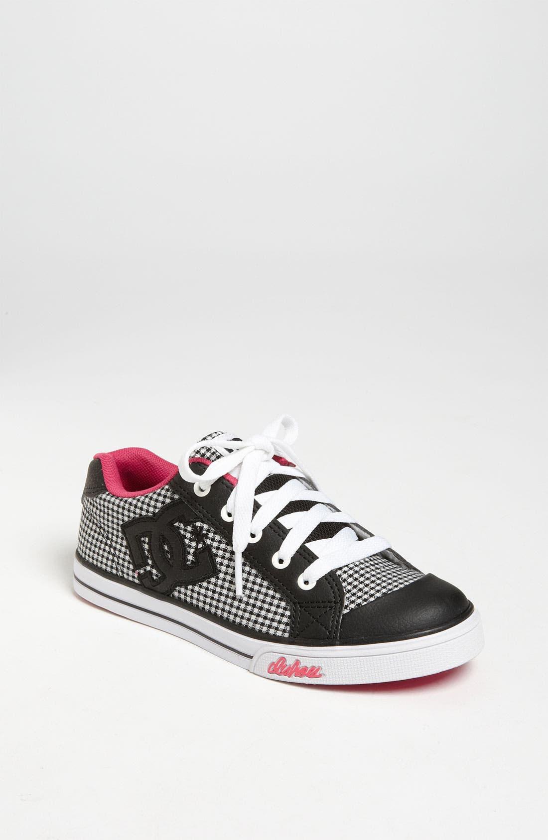Alternate Image 1 Selected - DC Shoes 'Chelsea Charm' Sneaker (Toddler, Little Kid & Big Kid)
