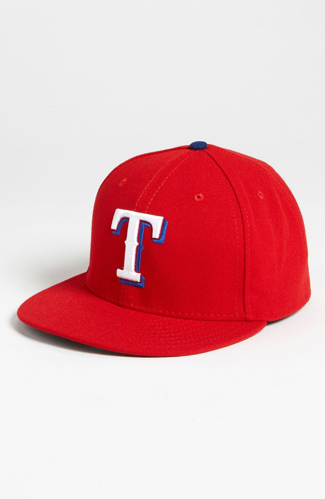 Alternate Image 1 Selected - New Era Cap 'Texas Rangers' Baseball Cap