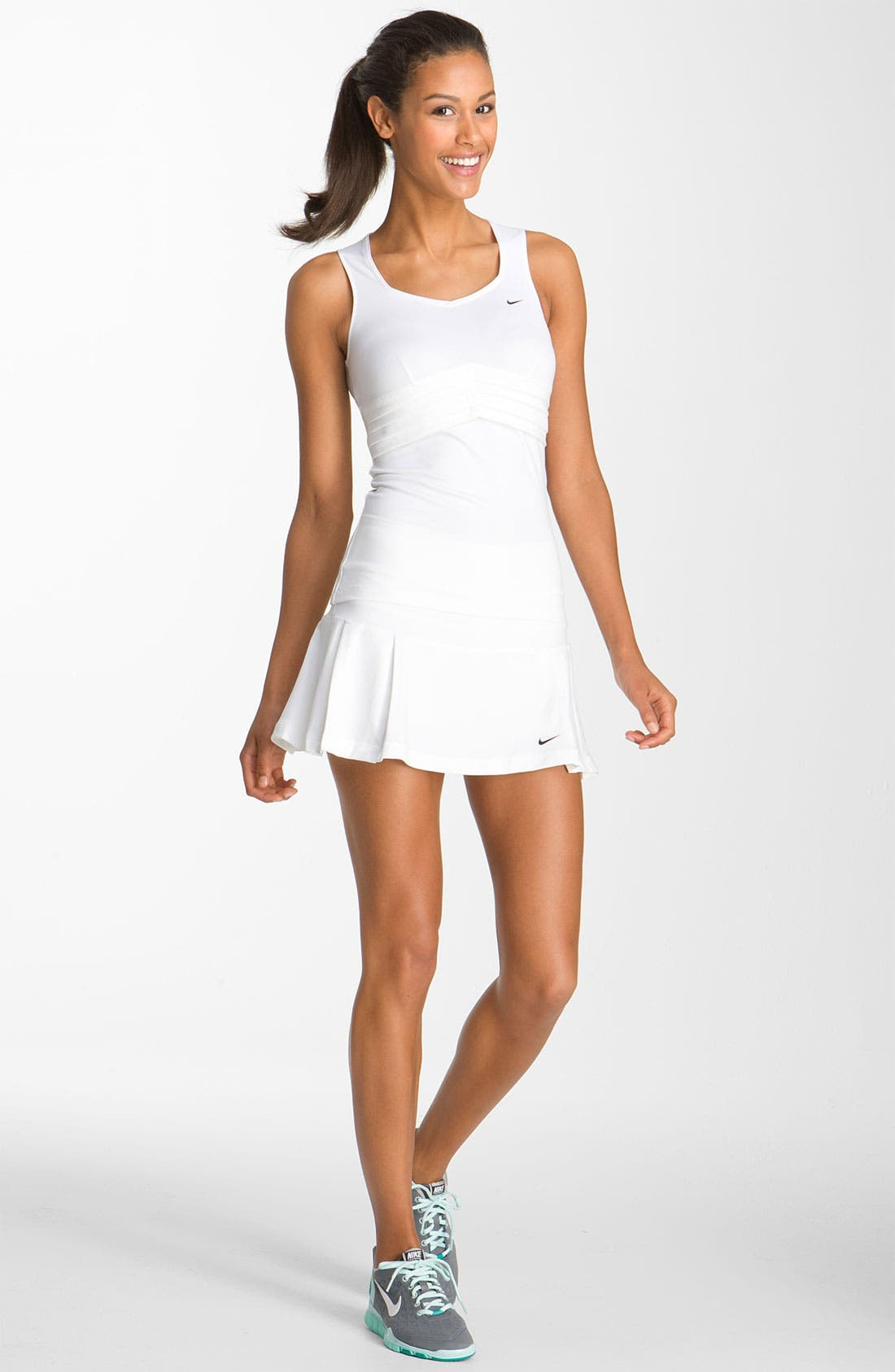 Alternate Image 3  - Nike 'Statement' Pleated Tennis Tank