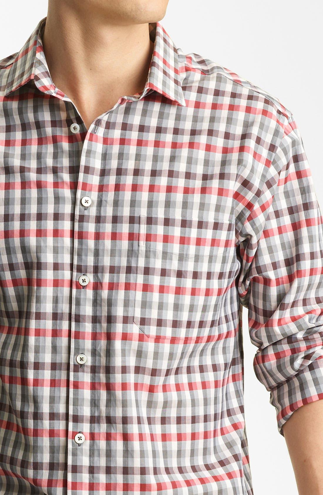 Alternate Image 3  - Billy Reid 'John T' Check Woven Shirt