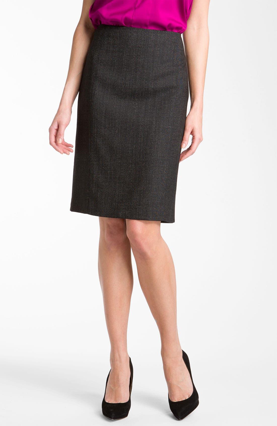 Alternate Image 1 Selected - Theory 'Cegilia - Copenhagen' Pencil Skirt