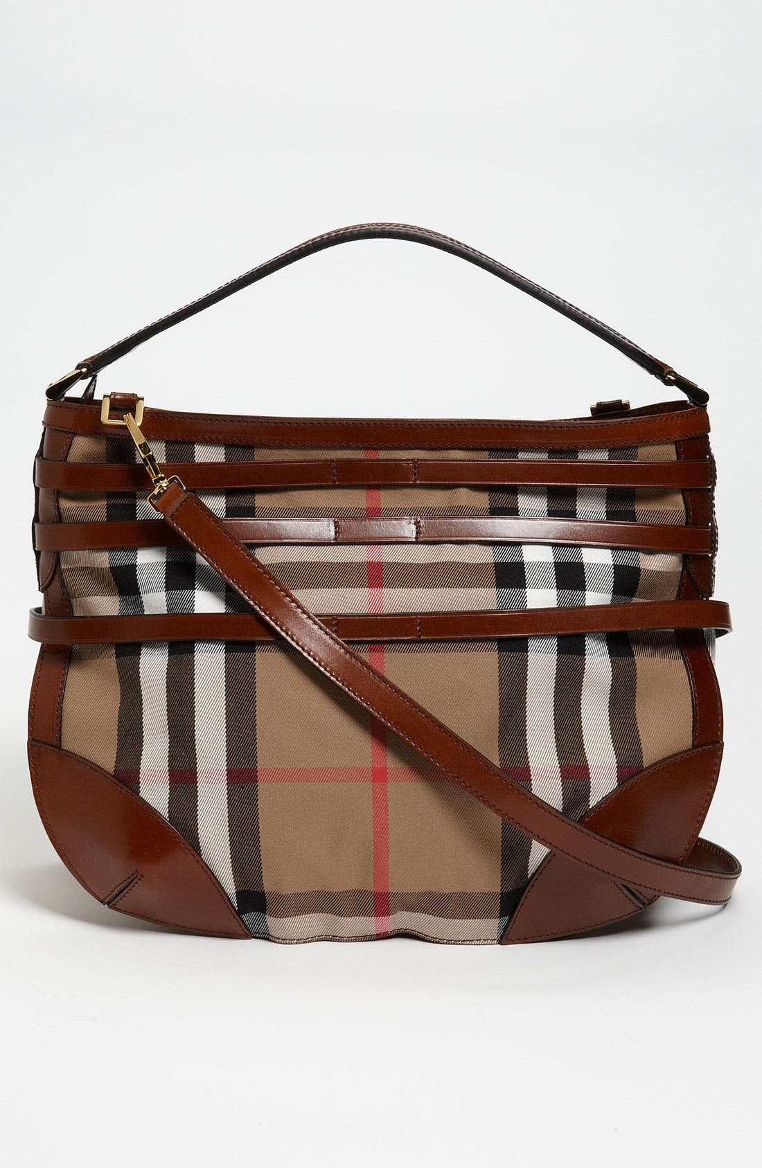 Alternate Image 4  - Burberry 'House Check' Hobo