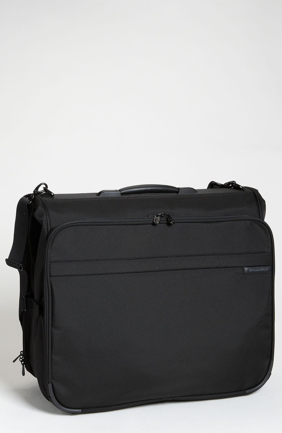 Alternate Image 1 Selected - Briggs & Riley 'Baseline - Deluxe' Garment Bag (22 Inch)
