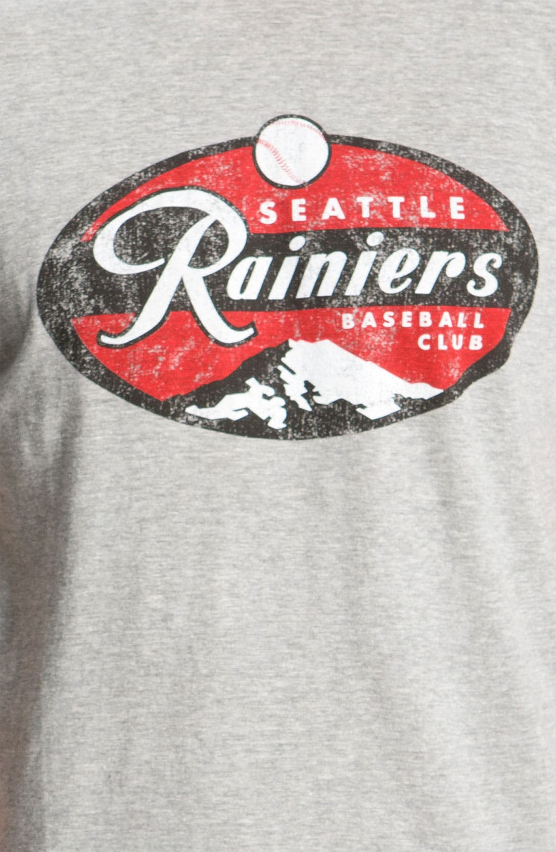 Alternate Image 3  - Red Jacket 'Seattle Rainiers - Brass Tack' T-Shirt
