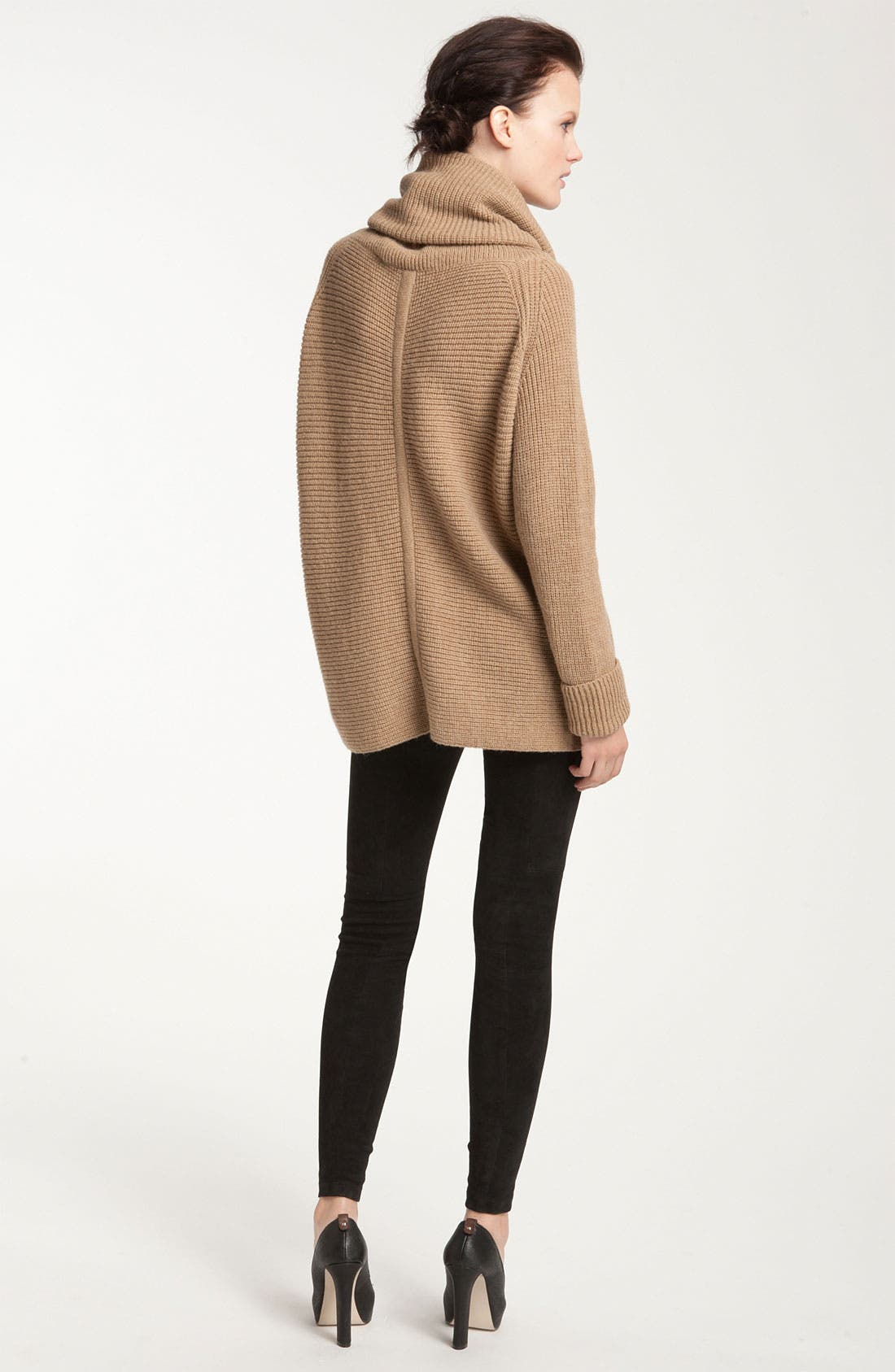 Alternate Image 2  - Vince Ribbed Cowl Neck Sweater