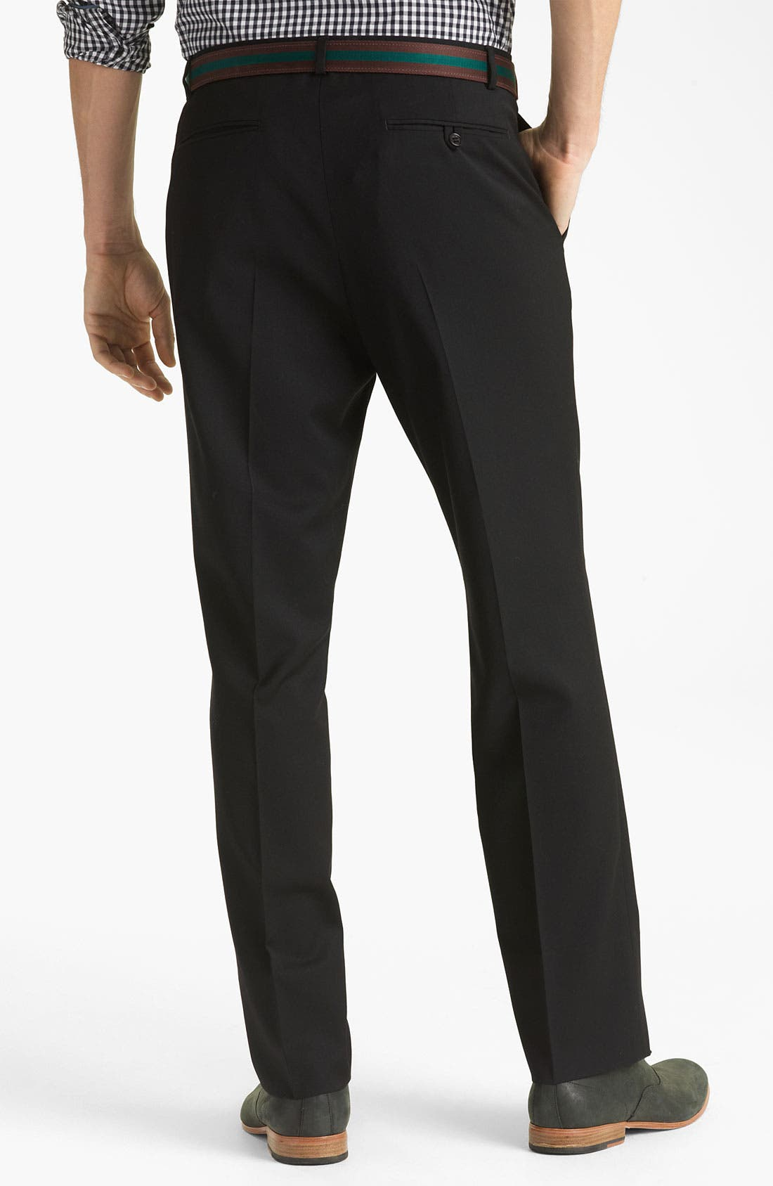 Alternate Image 2  - Shipley & Halmos 'Grand Classic' Wool Trousers