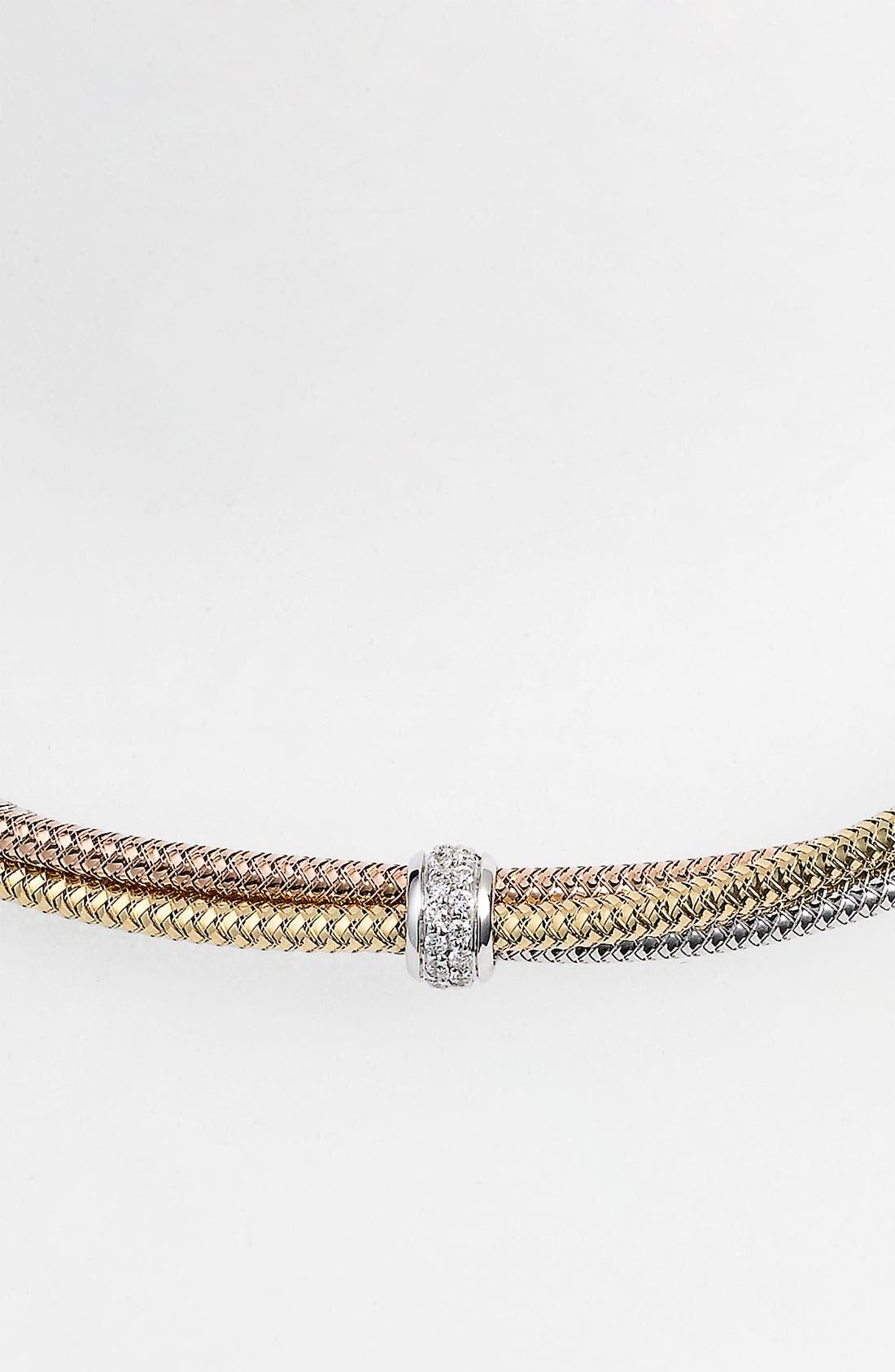 Alternate Image 2  - Roberto Coin 'Mini Primavera' Triple Strand Diamond Necklace