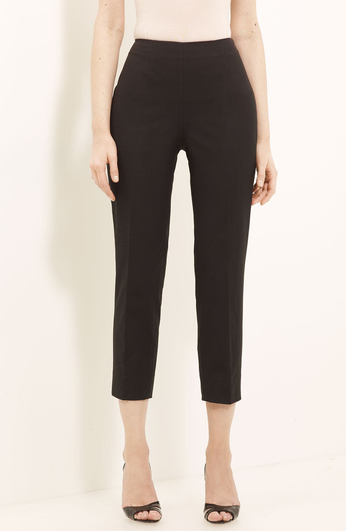Alternate Image 1 Selected - Piazza Sempione 'Audrey' Stretch Cotton Pants