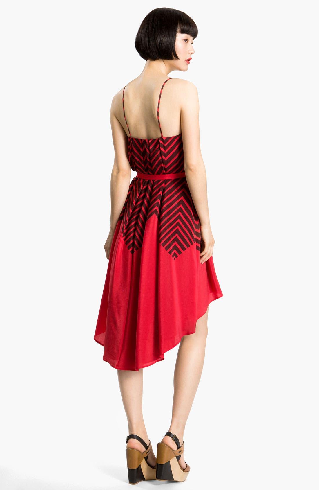Alternate Image 2  - French Connection 'Ziggy' Print Silk Dress