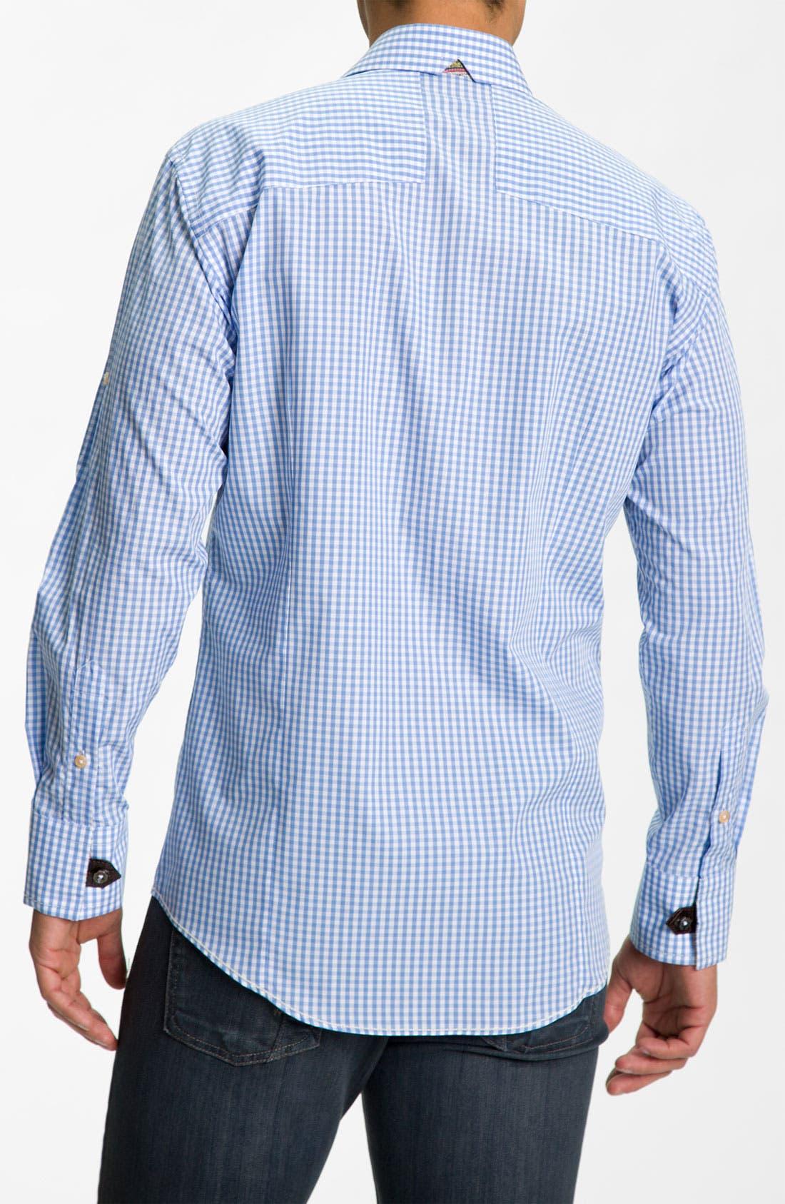 Alternate Image 3  - Bogosse Trim Fit Sport Shirt