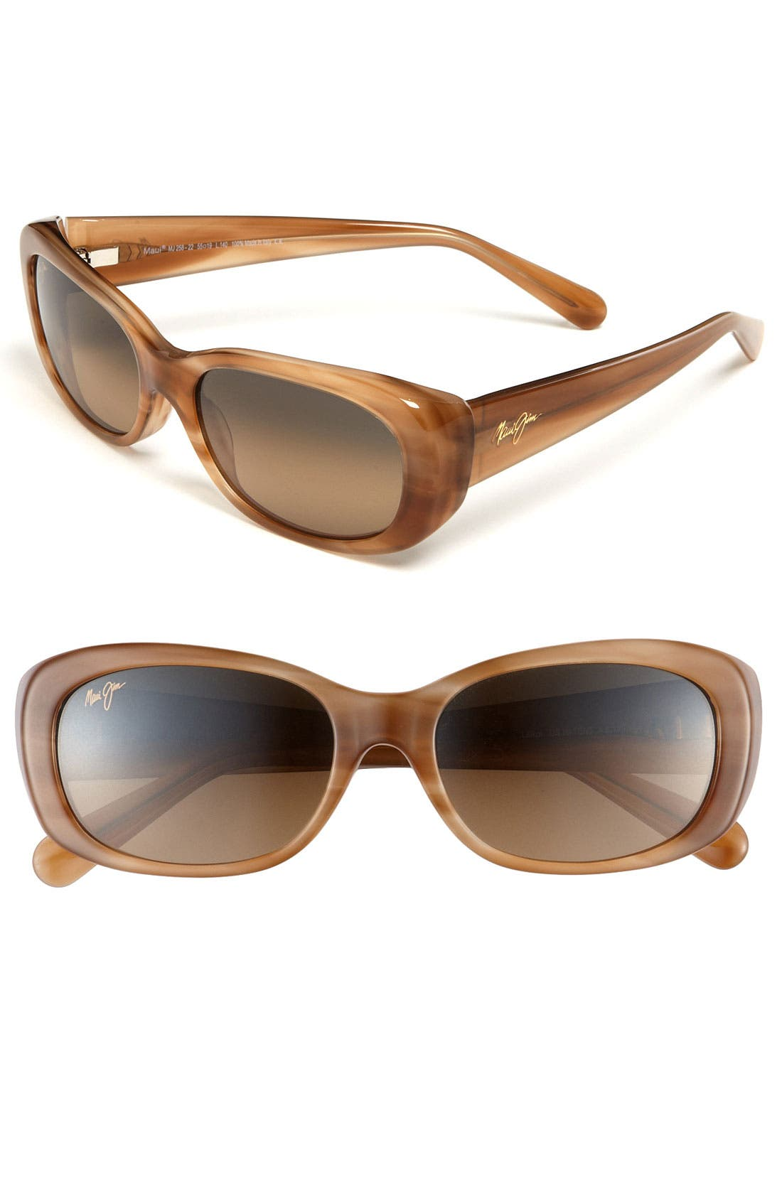Main Image - Maui Jim 'Lilikoi' 55mm Sunglasses