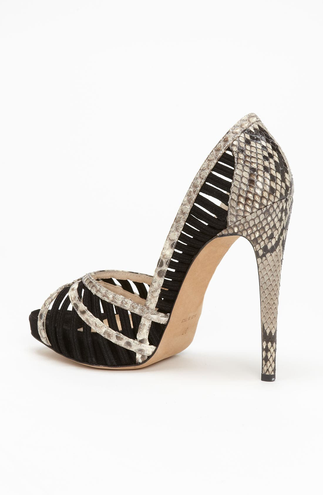 Alternate Image 2  - Alexandre Birman Genuine Python Sandal
