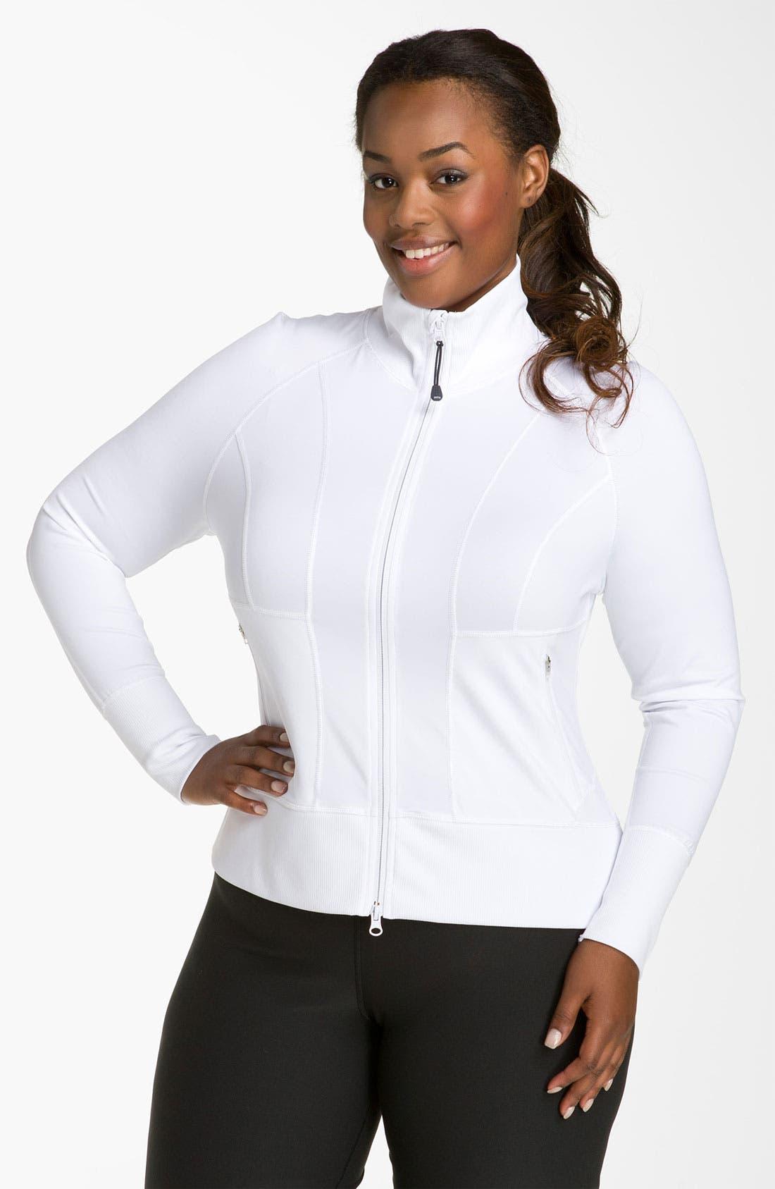 Alternate Image 1 Selected - Zella 'No. 1 Sport' Jacket (Plus)