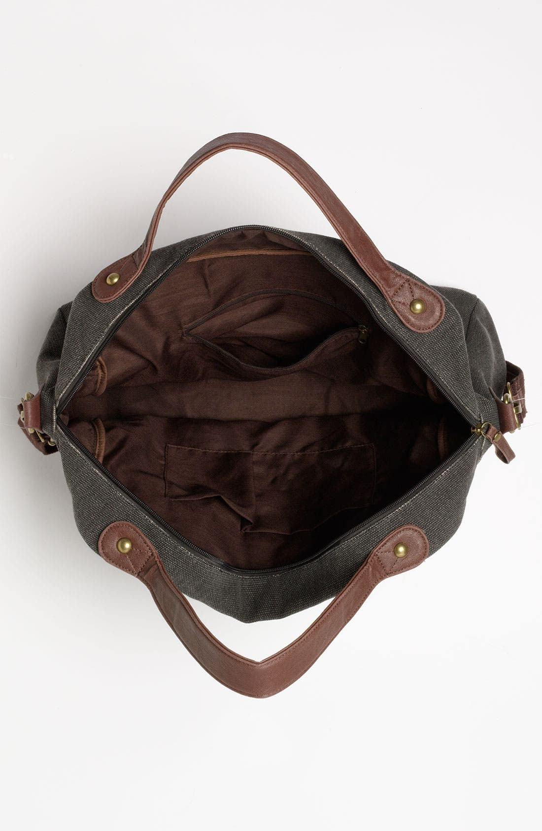 Alternate Image 3  - BP. Canvas & Faux Leather Tote