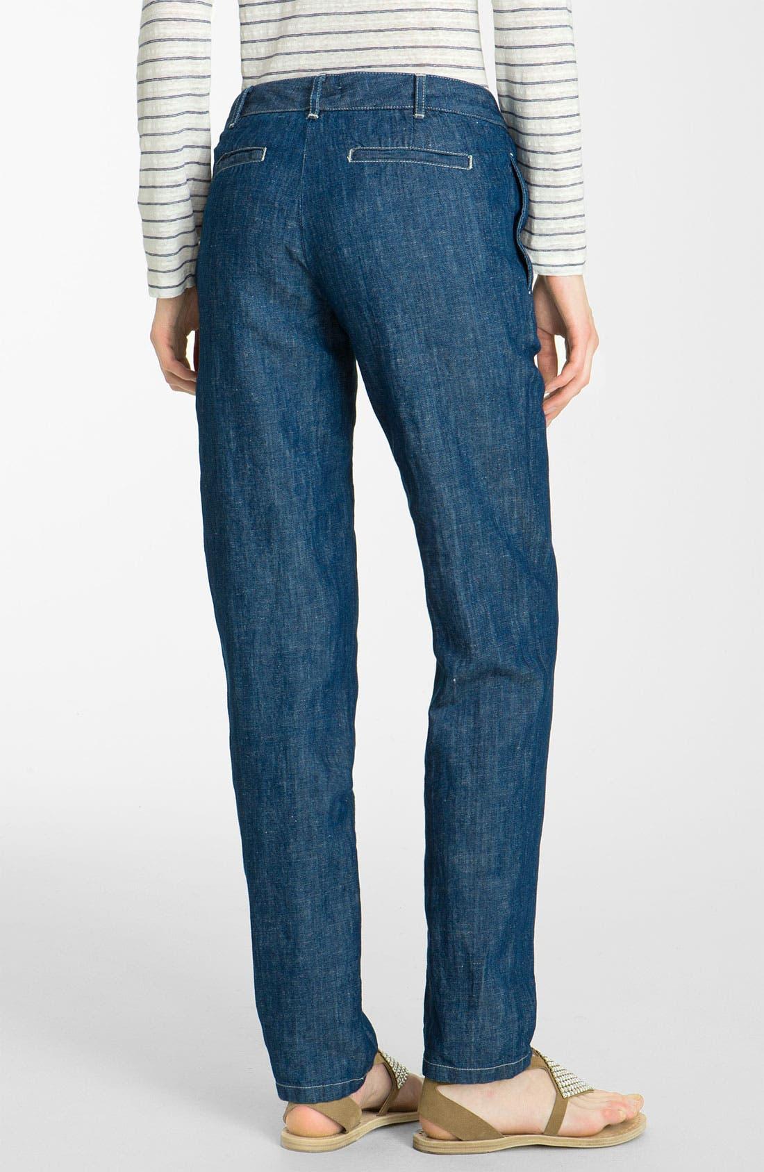 Alternate Image 2  - A.P.C. Straight Leg Denim Pants