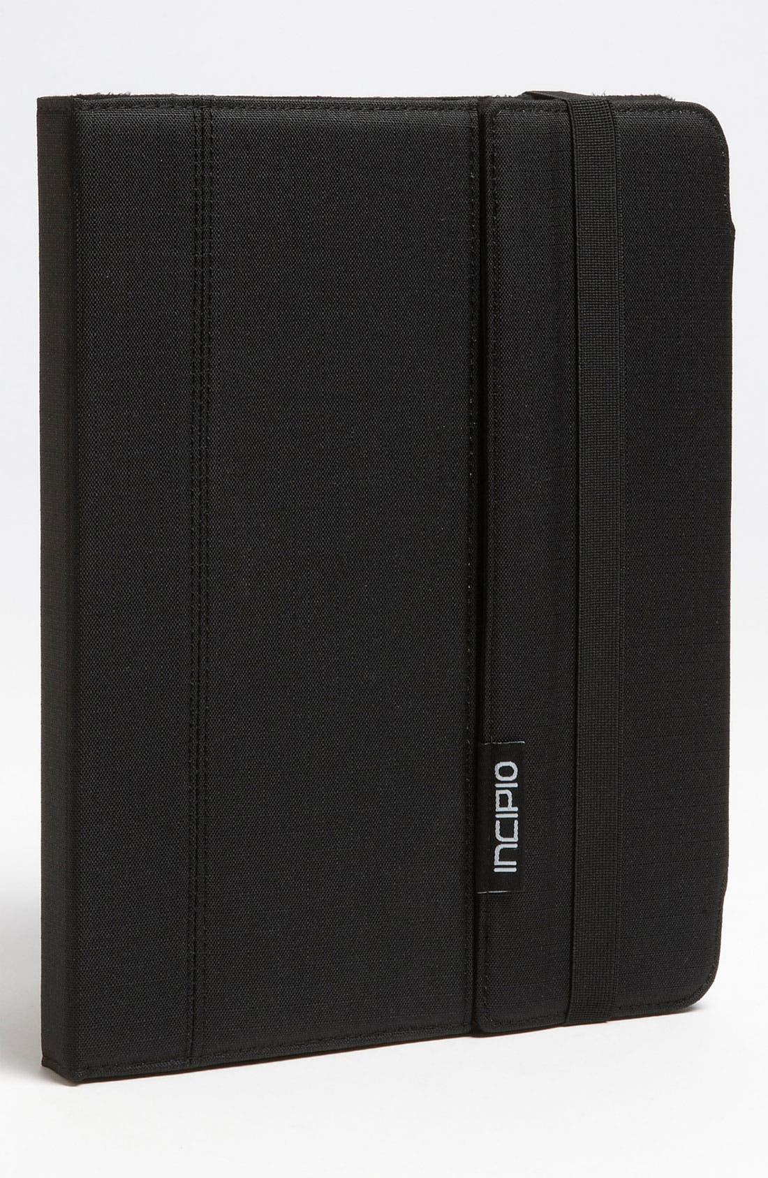 Alternate Image 1 Selected - Incipio 'Premium Kickstand' iPad 2 & 3 Case