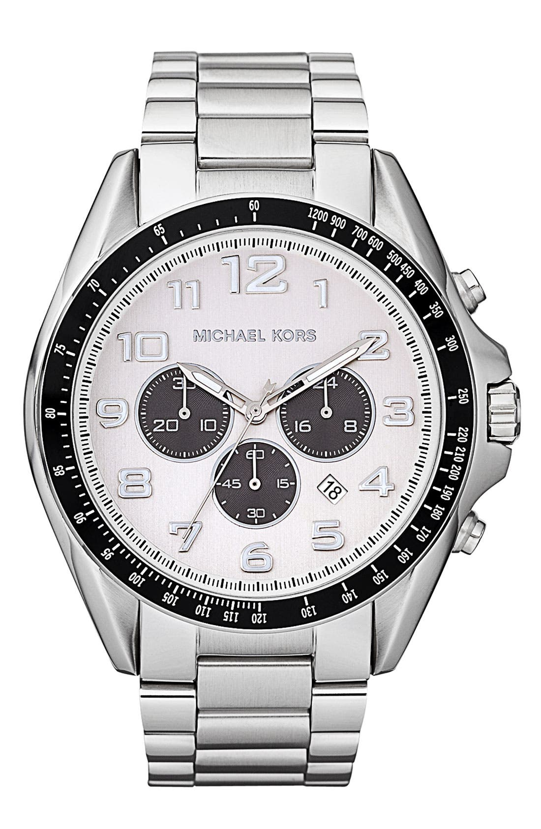 Alternate Image 1 Selected - Michael Kors 'Bradshaw' Chronograph Bracelet Watch