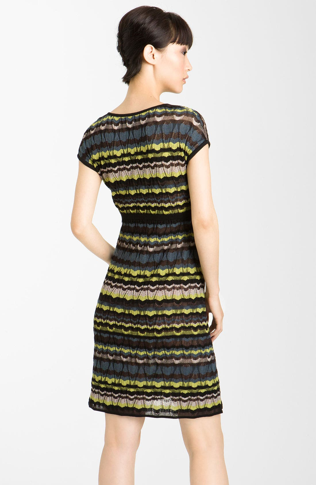Alternate Image 2  - M Missoni Lace Stripe Pointelle Knit Dress