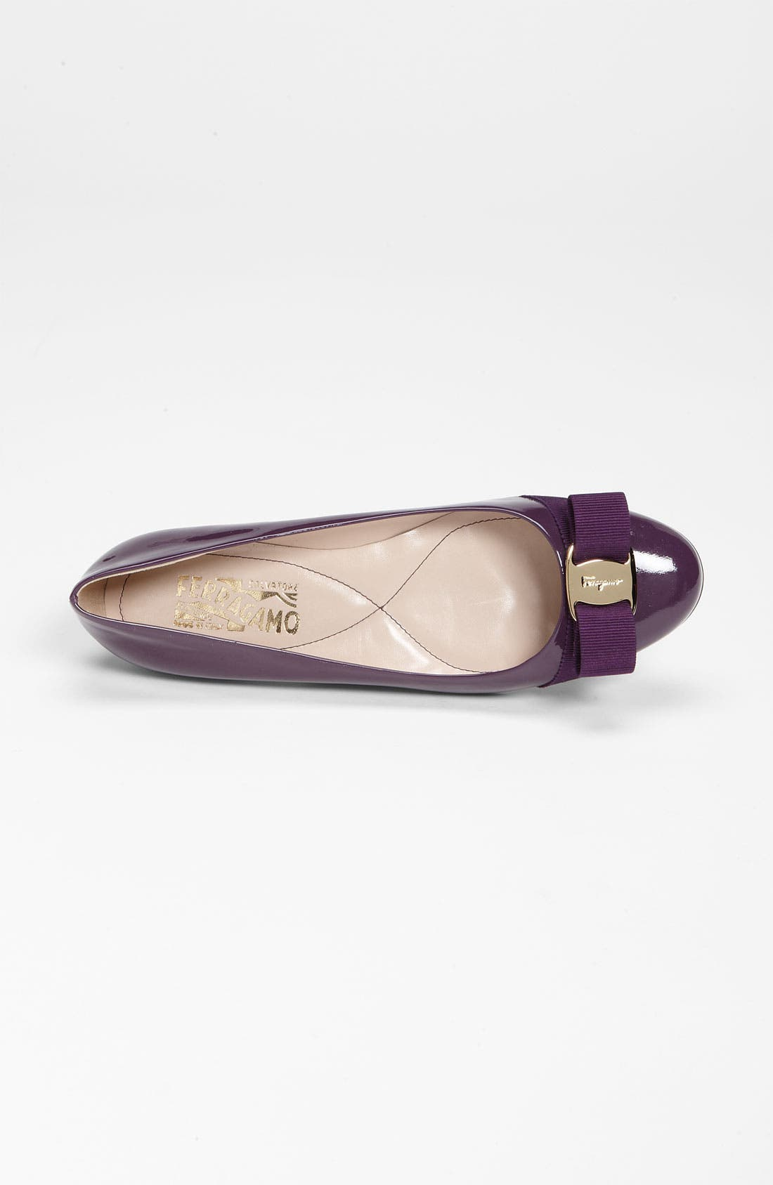 Alternate Image 3  - Salvatore Ferragamo 'Varina' Bow Flat