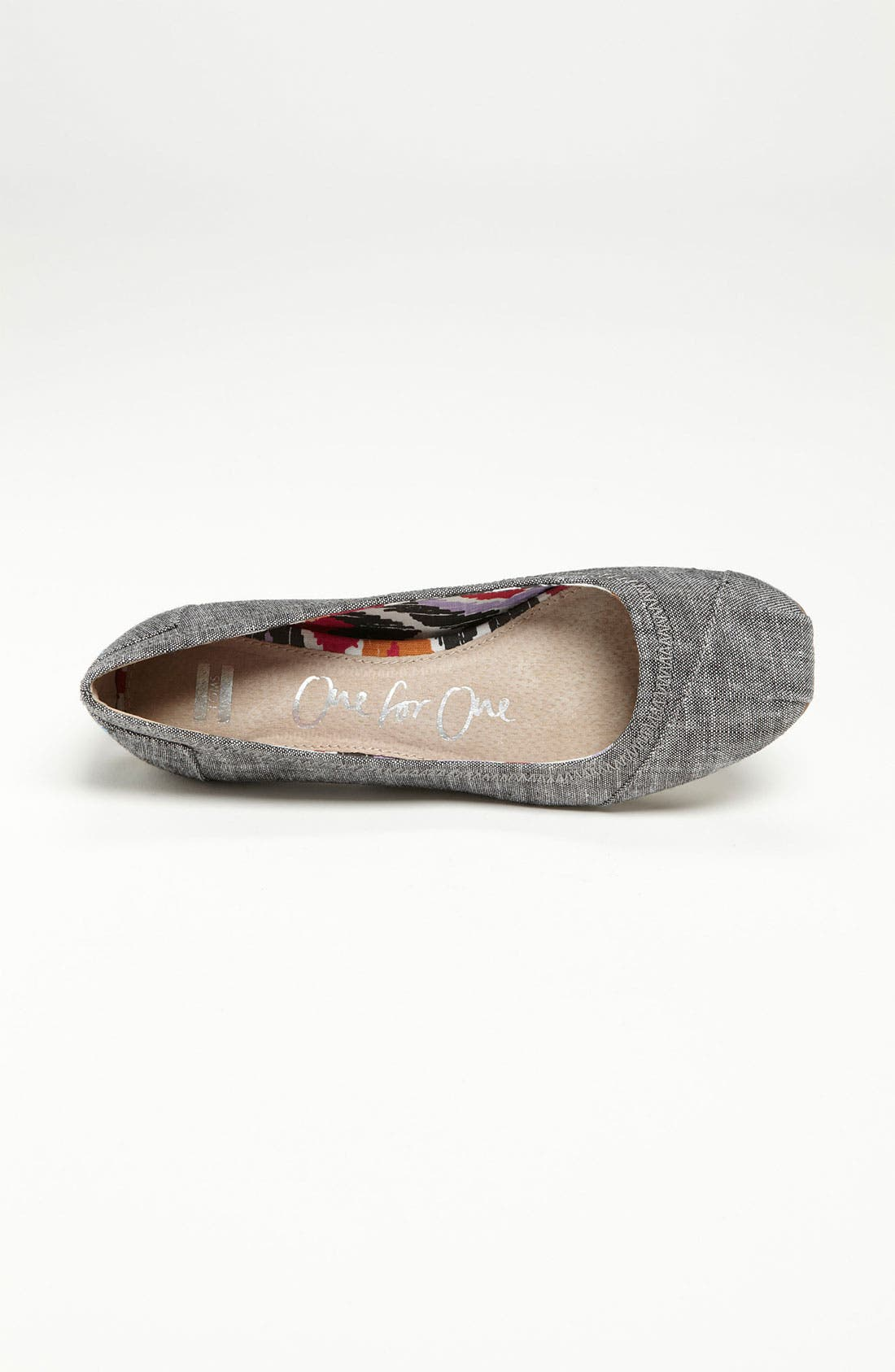 Alternate Image 3  - TOMS 'Natalia' Ballet Flat