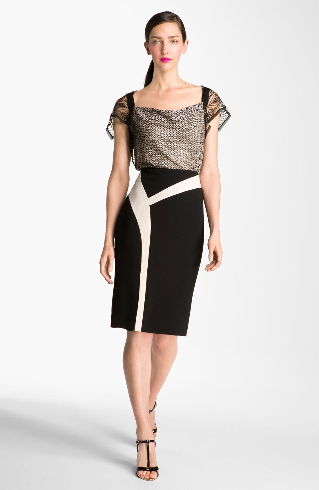 Alternate Image 4  - Rachel Roy Abstract Colorblock Skirt